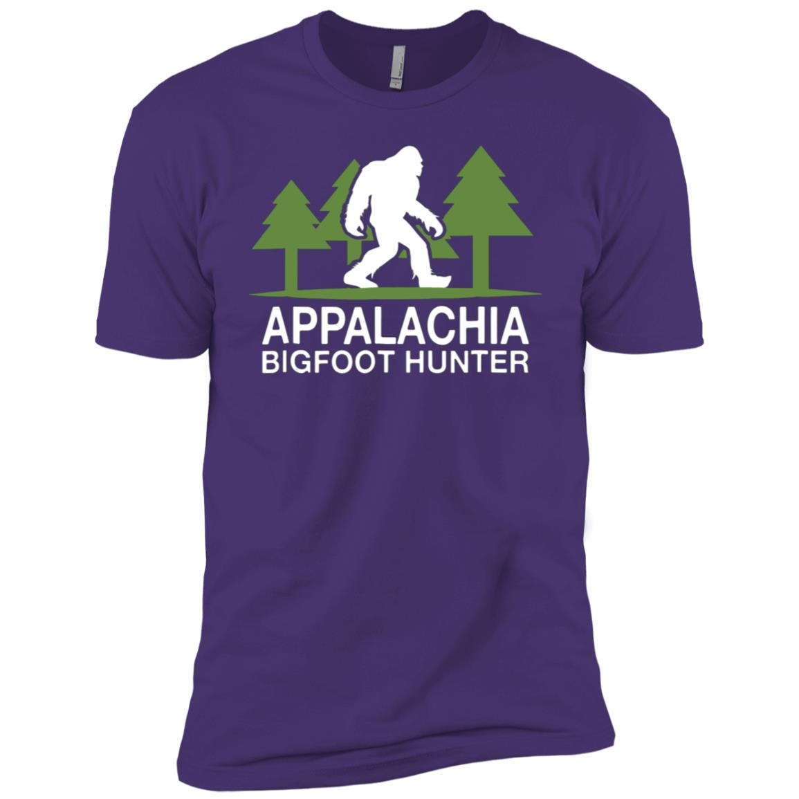 Appalachia Bigfoot Hunter Funny Sasquatch Men Short Sleeve T-Shirt