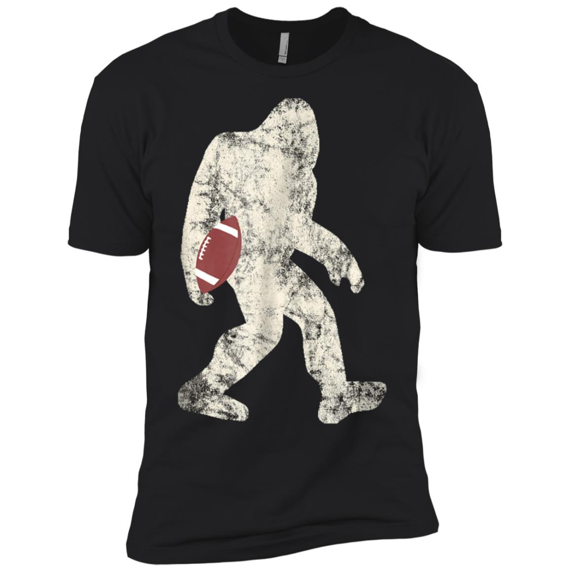 American Bigfoots Football Rugby Sasquatchs s Gifts Men Short Sleeve T-Shirt