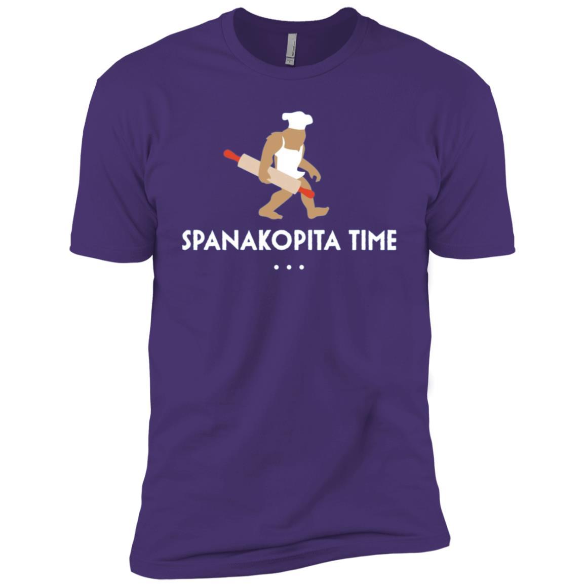 Baking Bigfoot Spanakopita Time Baker Gift Men Short Sleeve T-Shirt