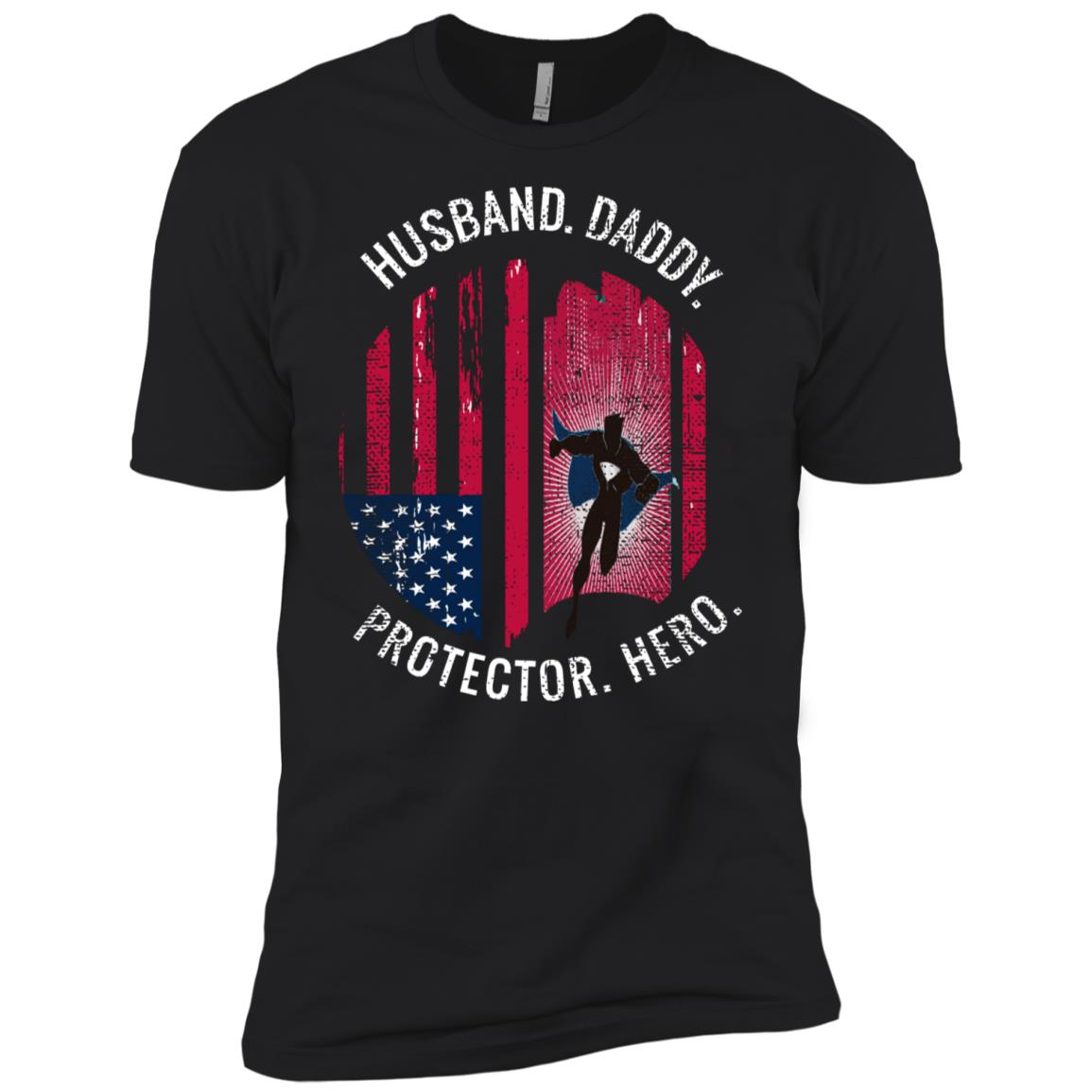 American Flag - Funny Gift From Wife Daughter Son Men Short Sleeve T-Shirt