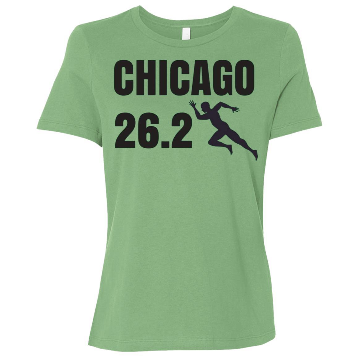 Chicago 26.2 Miles Marathon Running Women Short Sleeve T-Shirt