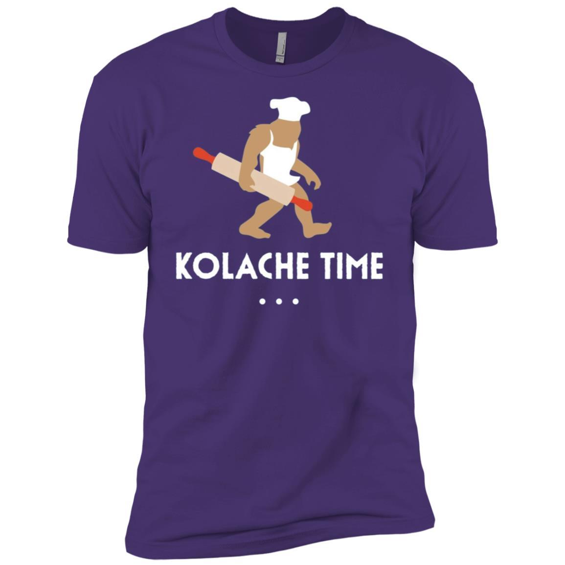 Baking Bigfoot Kolache Time Baker Gift Men Short Sleeve T-Shirt