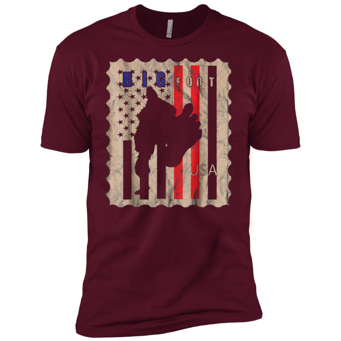 Bigfoot -1 Men Short Sleeve T-Shirt