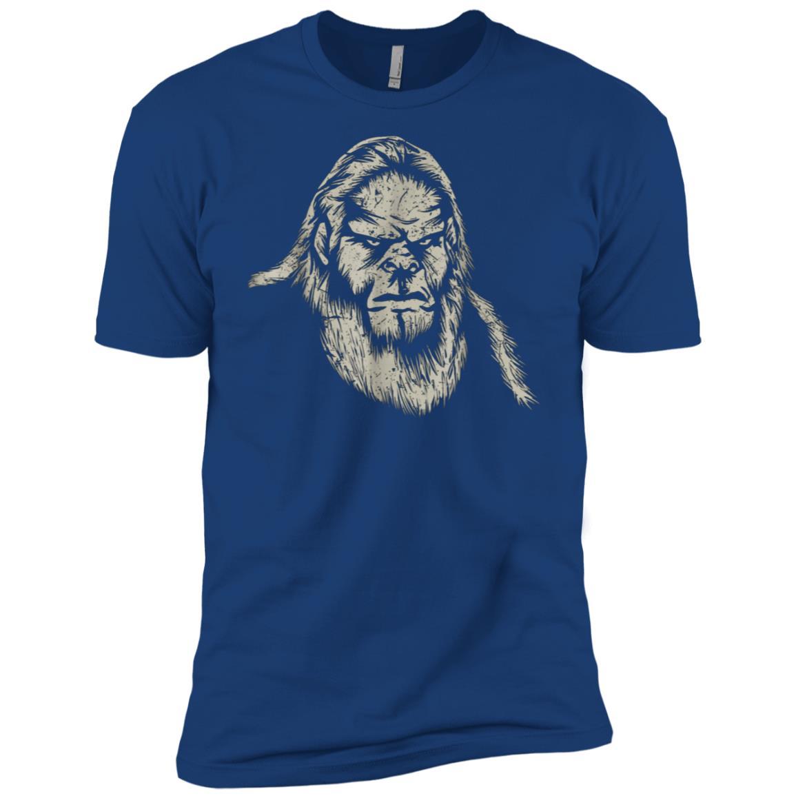 Bigfoot , Pen & Ink Stylish Bigfoot Novelty Men Short Sleeve T-Shirt