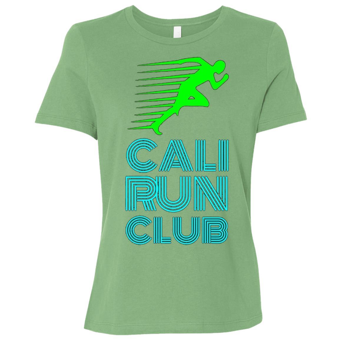 Cali Run Club Stylish Neon Running Women Short Sleeve T-Shirt