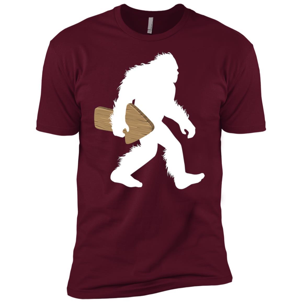Bigfoot Carrying Arrow Gift Men Short Sleeve T-Shirt