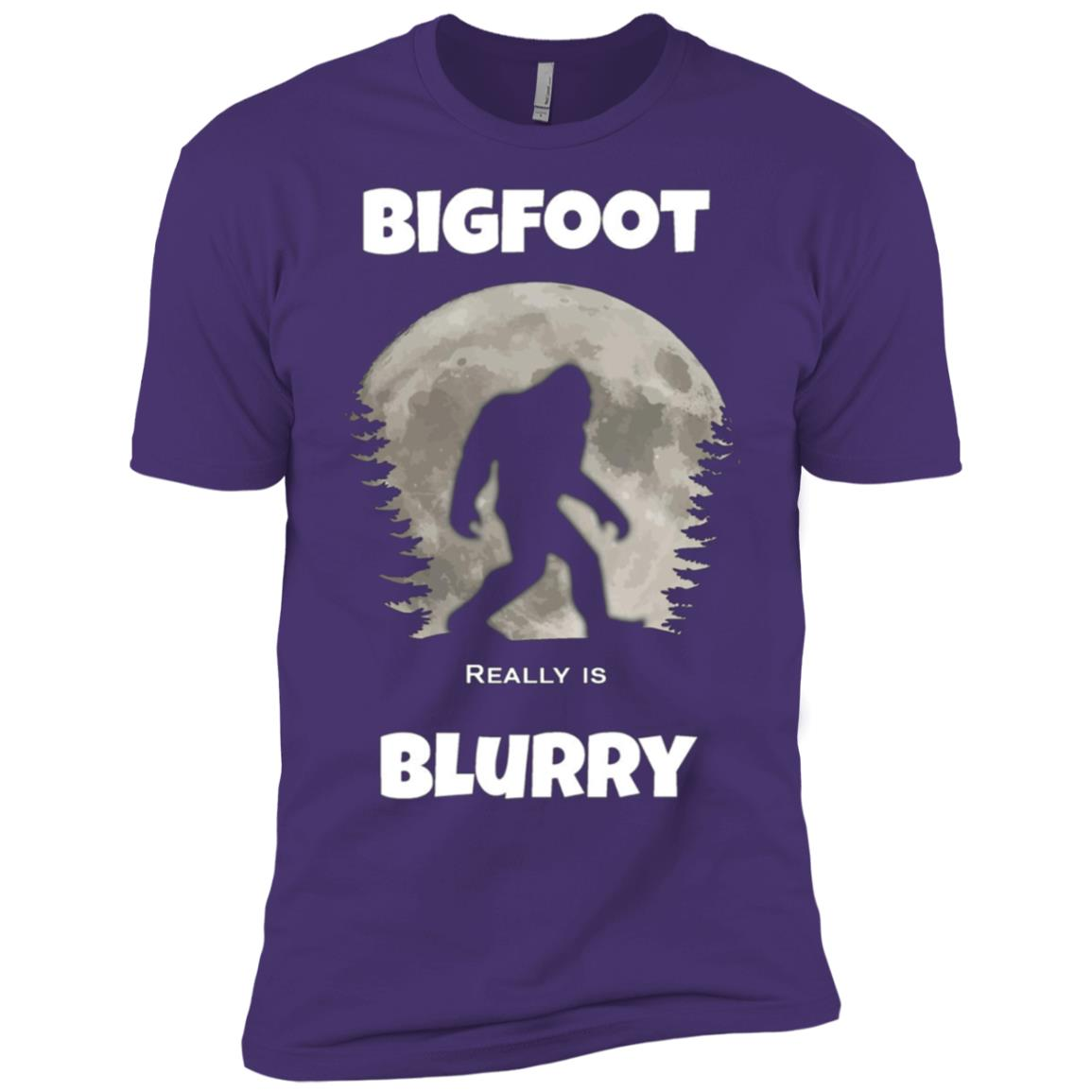 Bigfoot birthday gift funny gift Men Short Sleeve T-Shirt