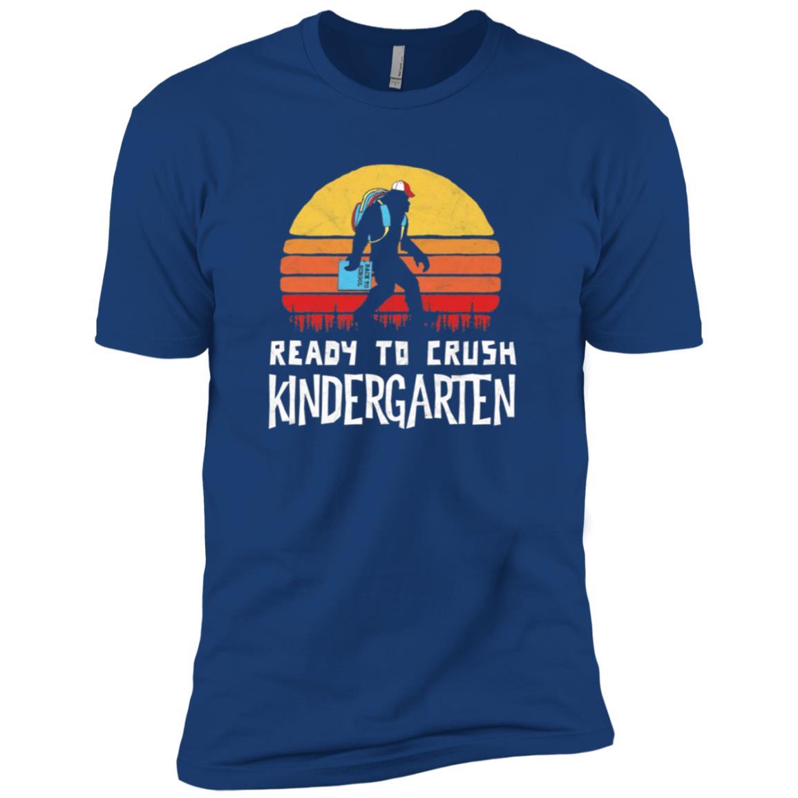 Bigfoot Back to School Crush Kindergarten! Men Short Sleeve T-Shirt