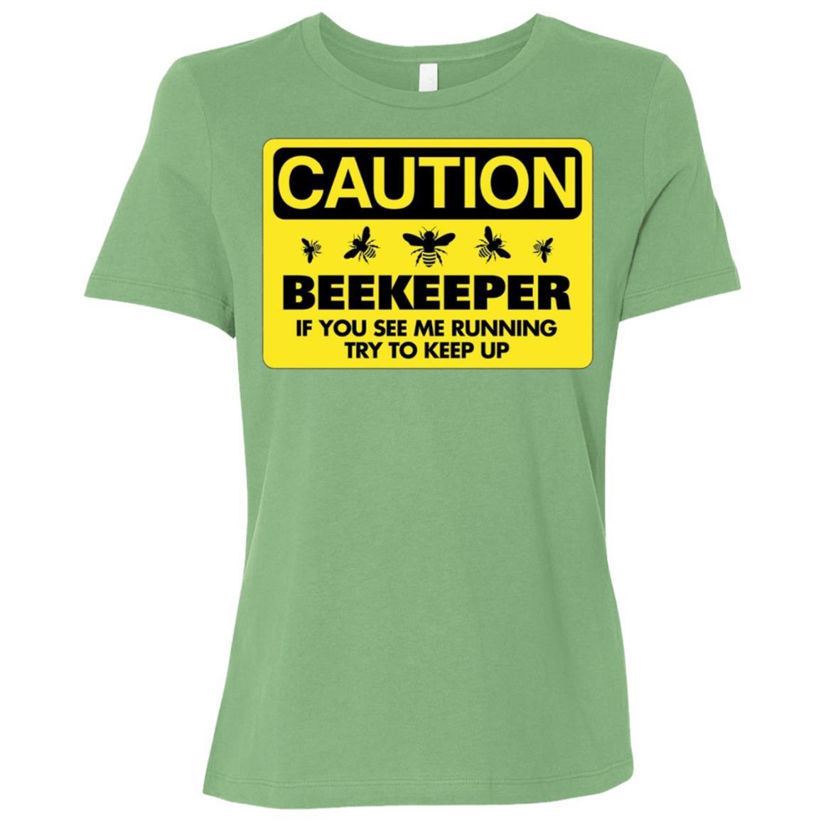 Beekeeper Beekeeping If You See Me Running Tee Women Short Sleeve T-Shirt