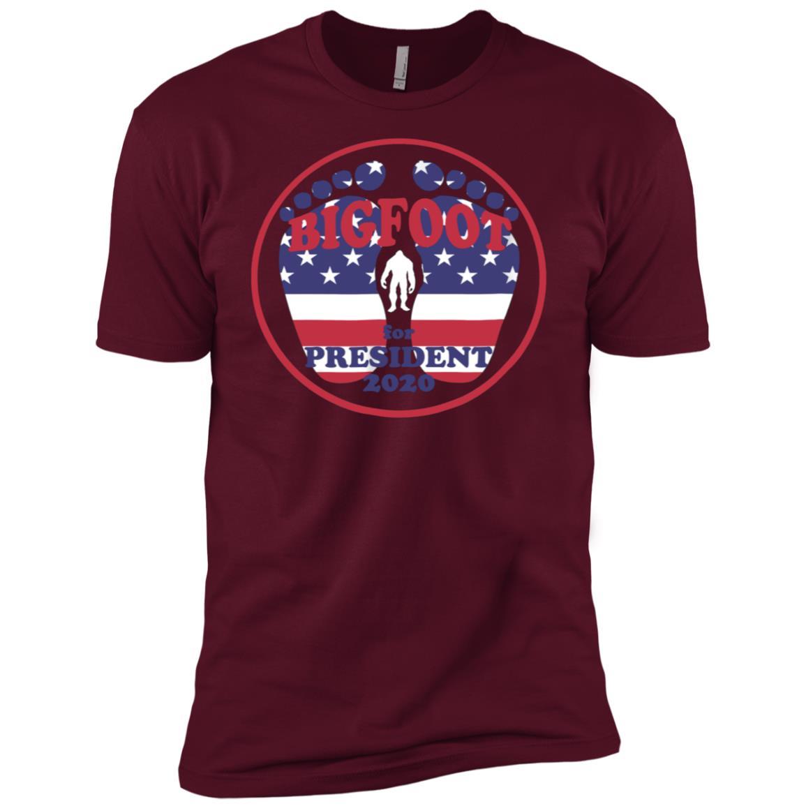 Bigfoot for President 2020 funny new Men Short Sleeve T-Shirt