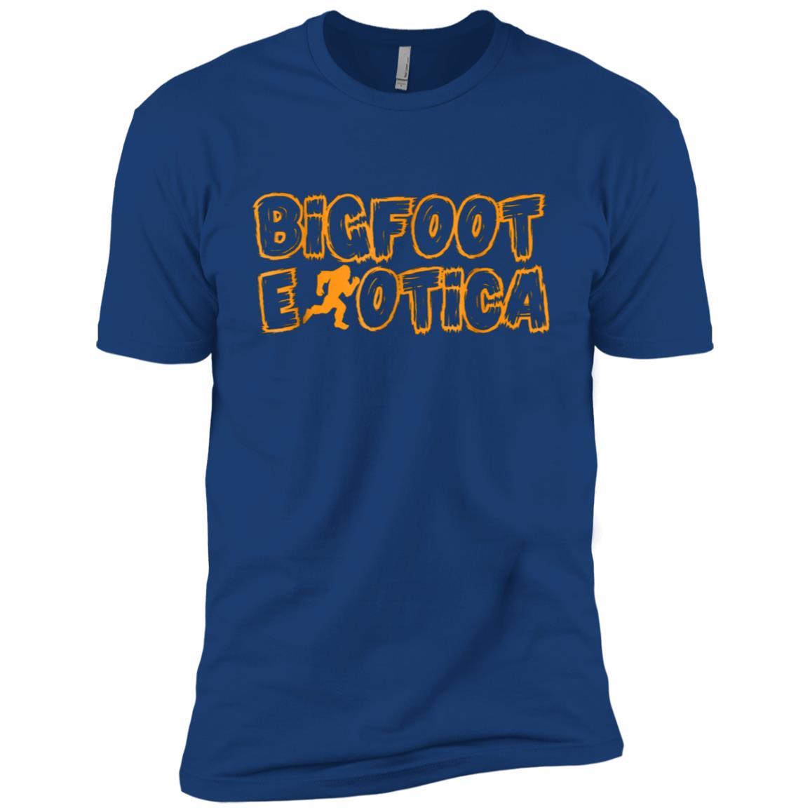 BigFoot Erotica Funny , Monsterotica Men Short Sleeve T-Shirt