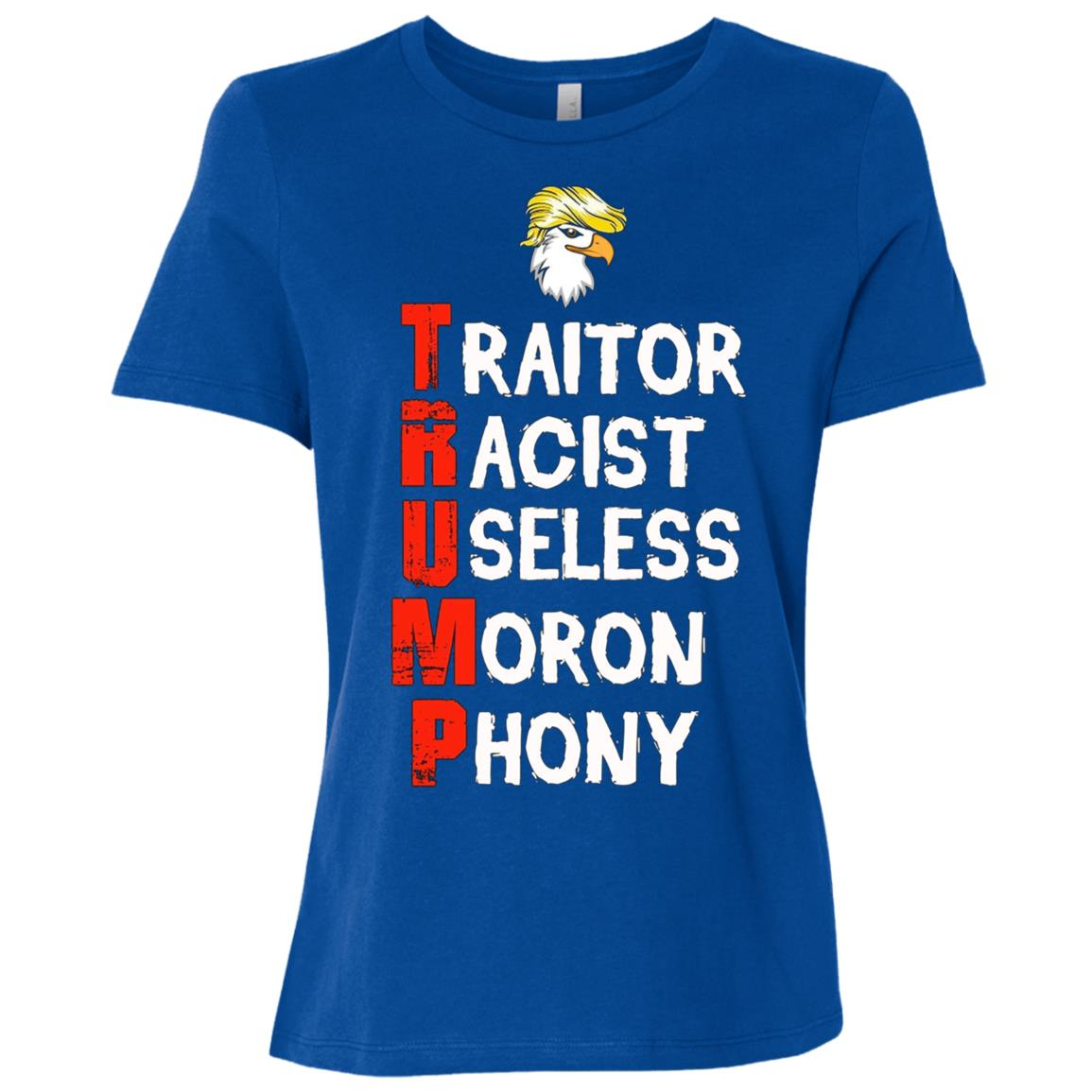 Anti Donald Trump – Save America Women Short Sleeve T-Shirt