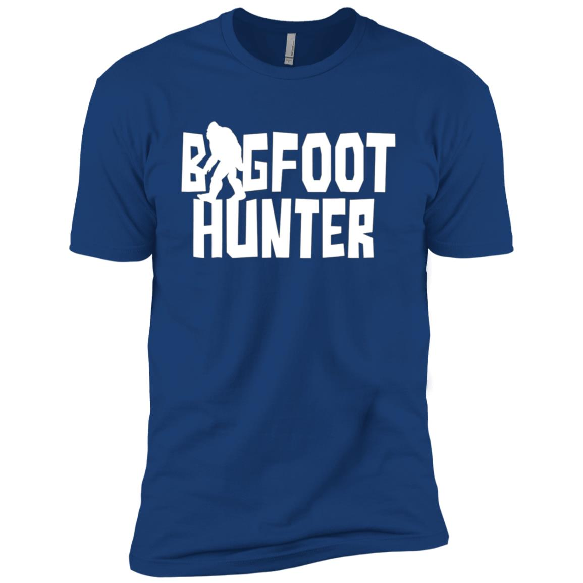 Bigfoot Hunter Men Short Sleeve T-Shirt