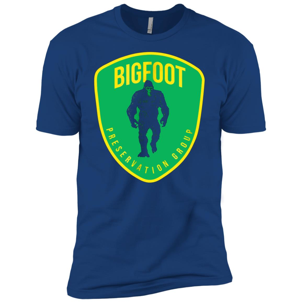 Bigfoot Preservation Group Protect Save the Bigfoot Men Short Sleeve T-Shirt