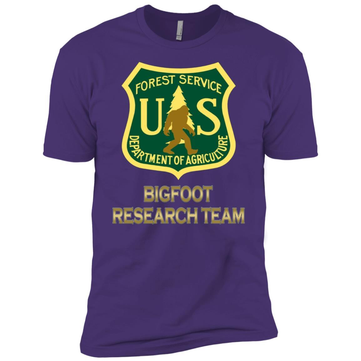 Bigfoot Research Team Funny Men Short Sleeve T-Shirt