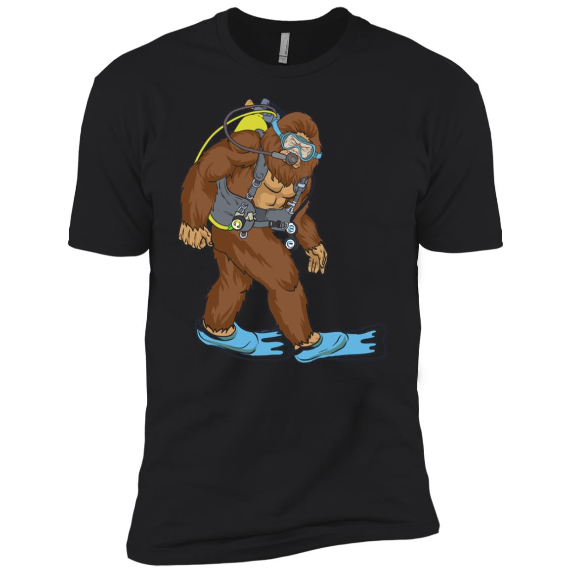 Bigfoot Scuba Diving – Divings For Men And Women Men Short Sleeve T-Shirt