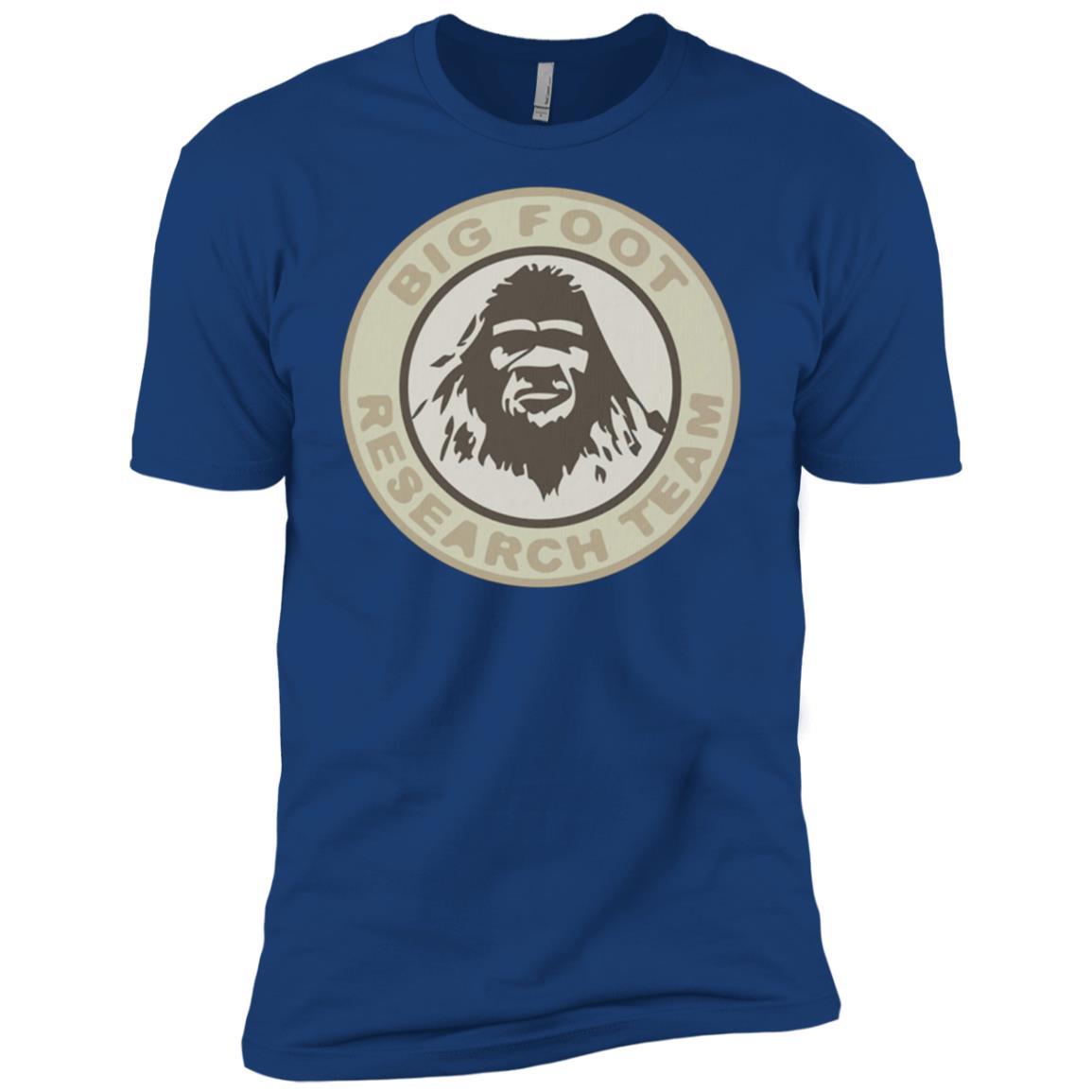 Bigfoot Yeti Research Team Sasquatch Vintage Men Short Sleeve T-Shirt