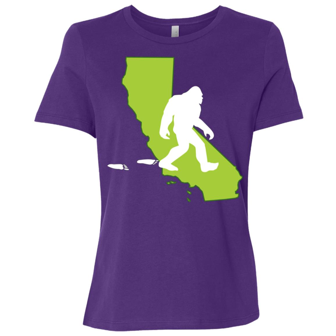 California State Bigfoot Hunter Women Short Sleeve T-Shirt