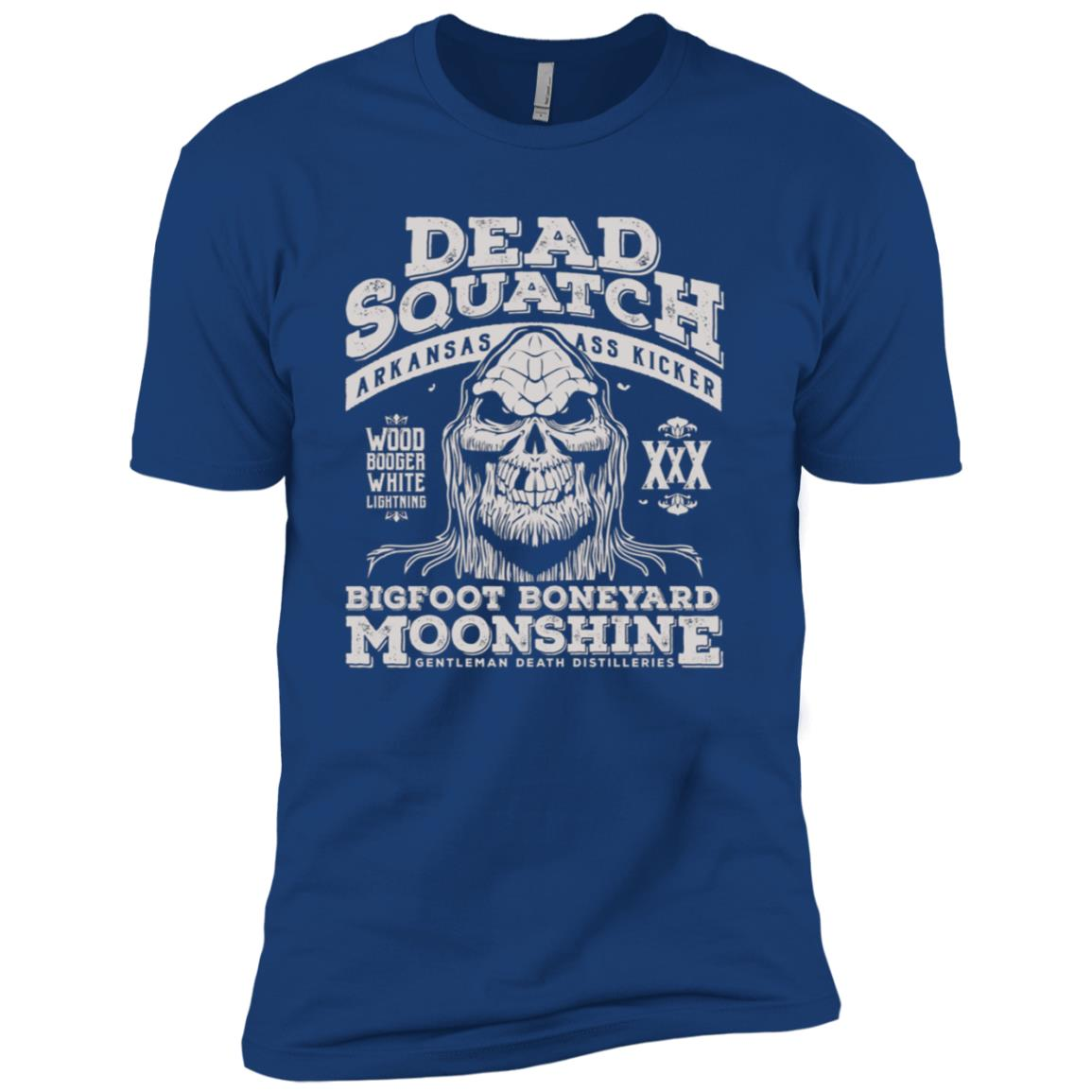 Dead Squatch Bigfoot Boneyard Moonshine Men Short Sleeve T-Shirt