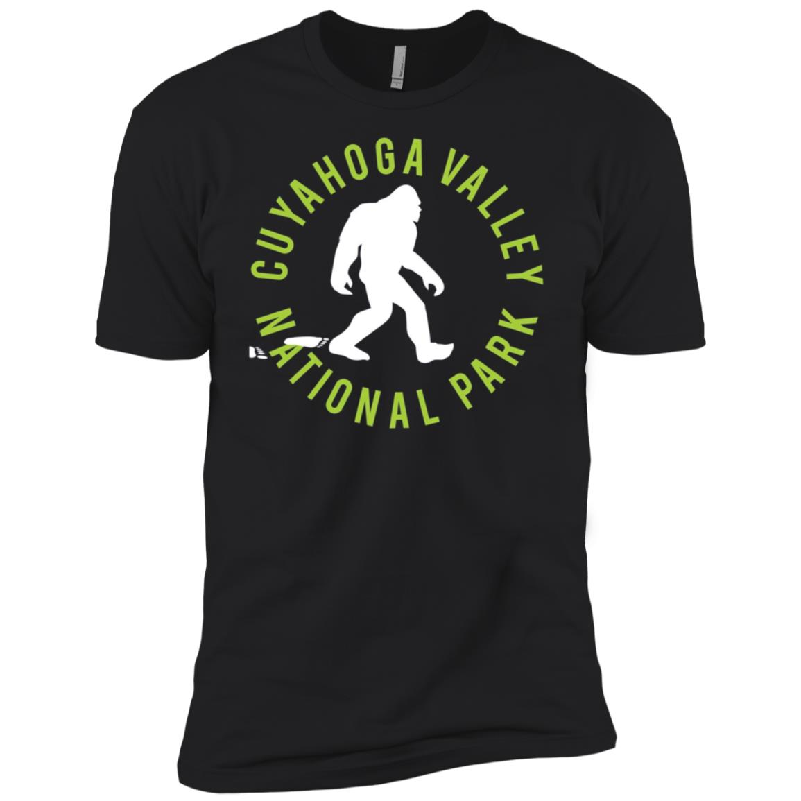 Cuyahoga Valley National Park Bigfoot Men Short Sleeve T-Shirt