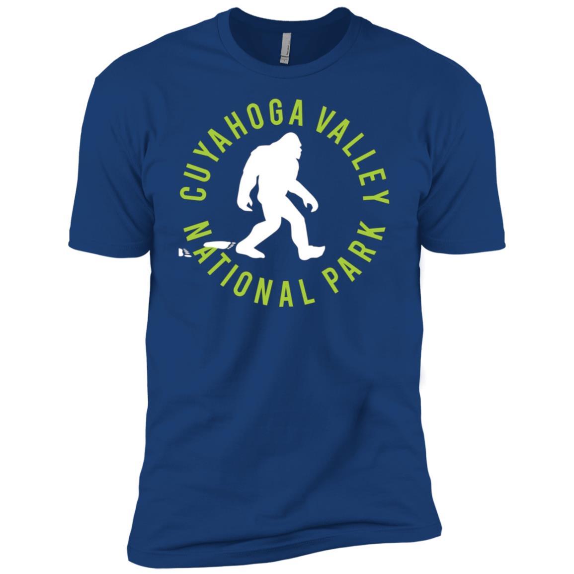 Cuyahoga Valley National Park Bigfoot Men Short Sleeve T-Shirt