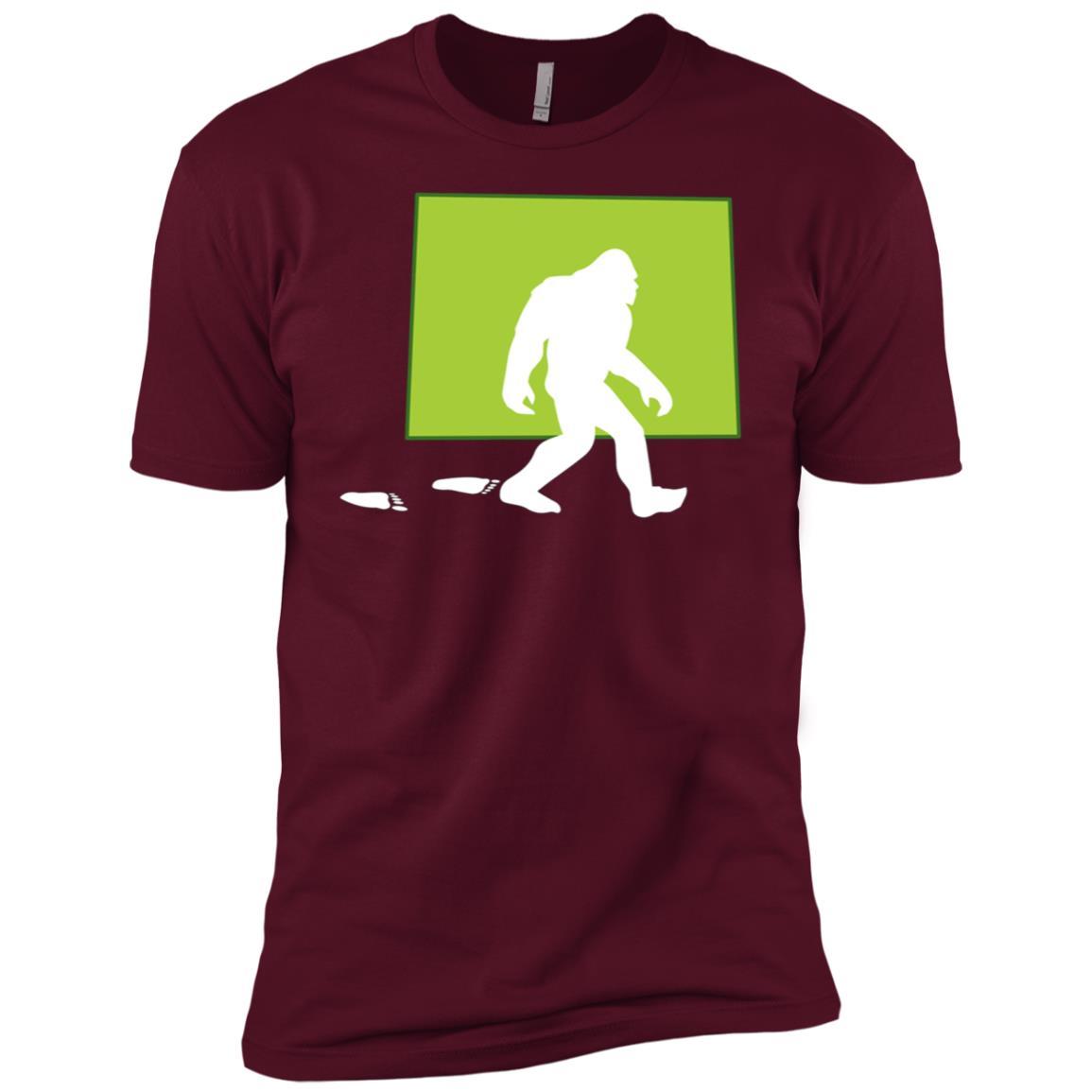 Colorado State Bigfoot Hunter Men Short Sleeve T-Shirt