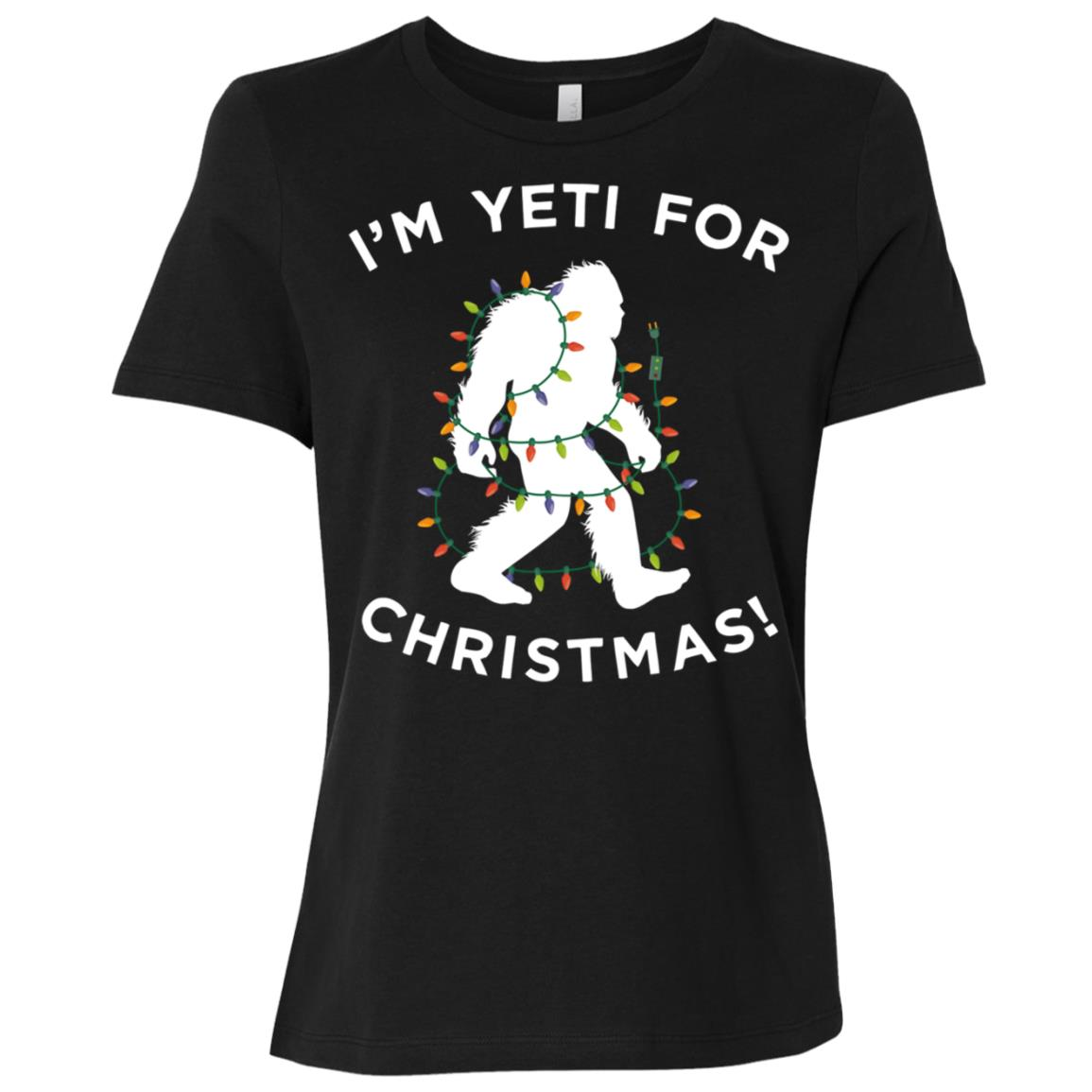 Christmas Yeti , Ready For Xmas Gift Women Short Sleeve T-Shirt