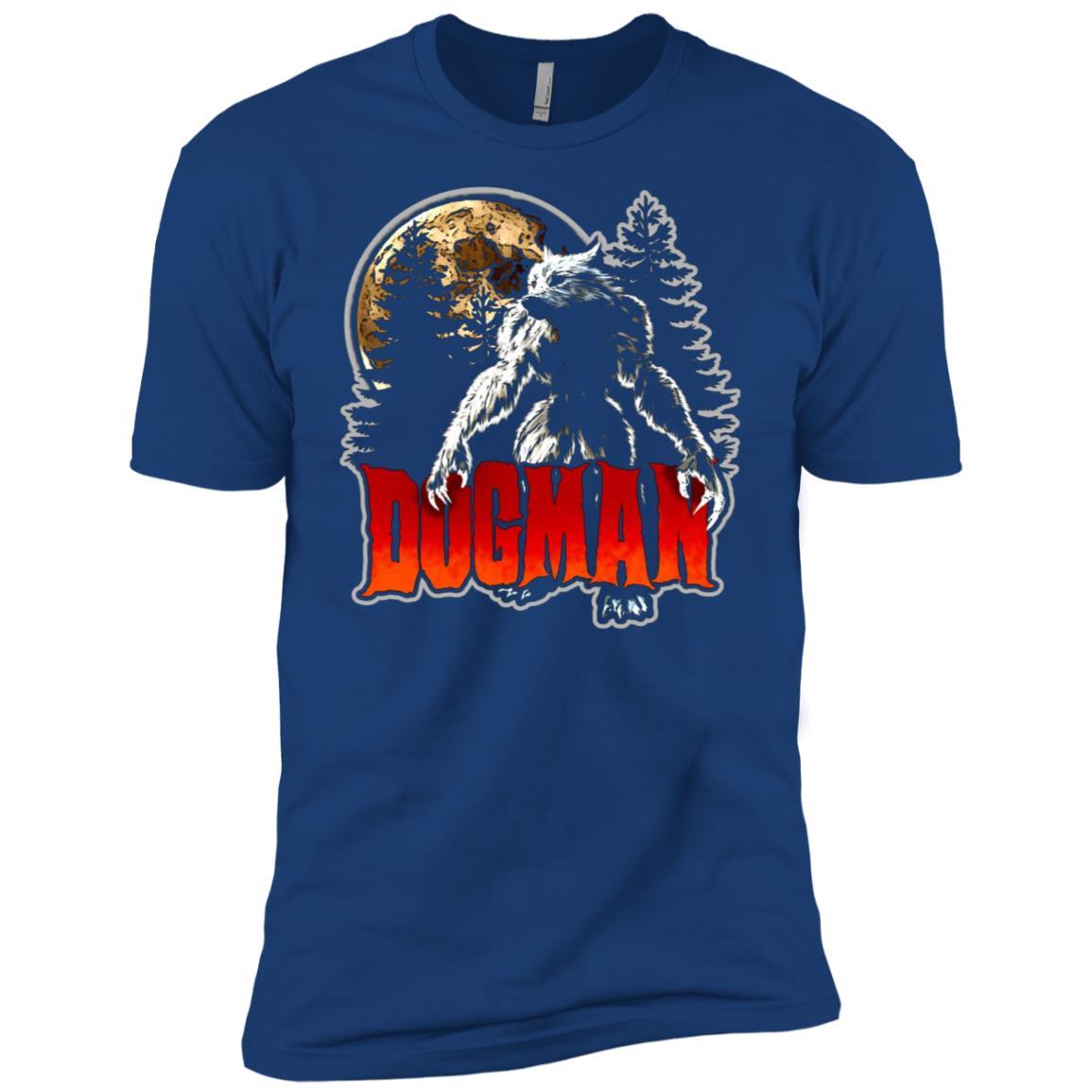 Dogman America's Werewolf Monster Cryptid Tee Men Short Sleeve T-Shirt