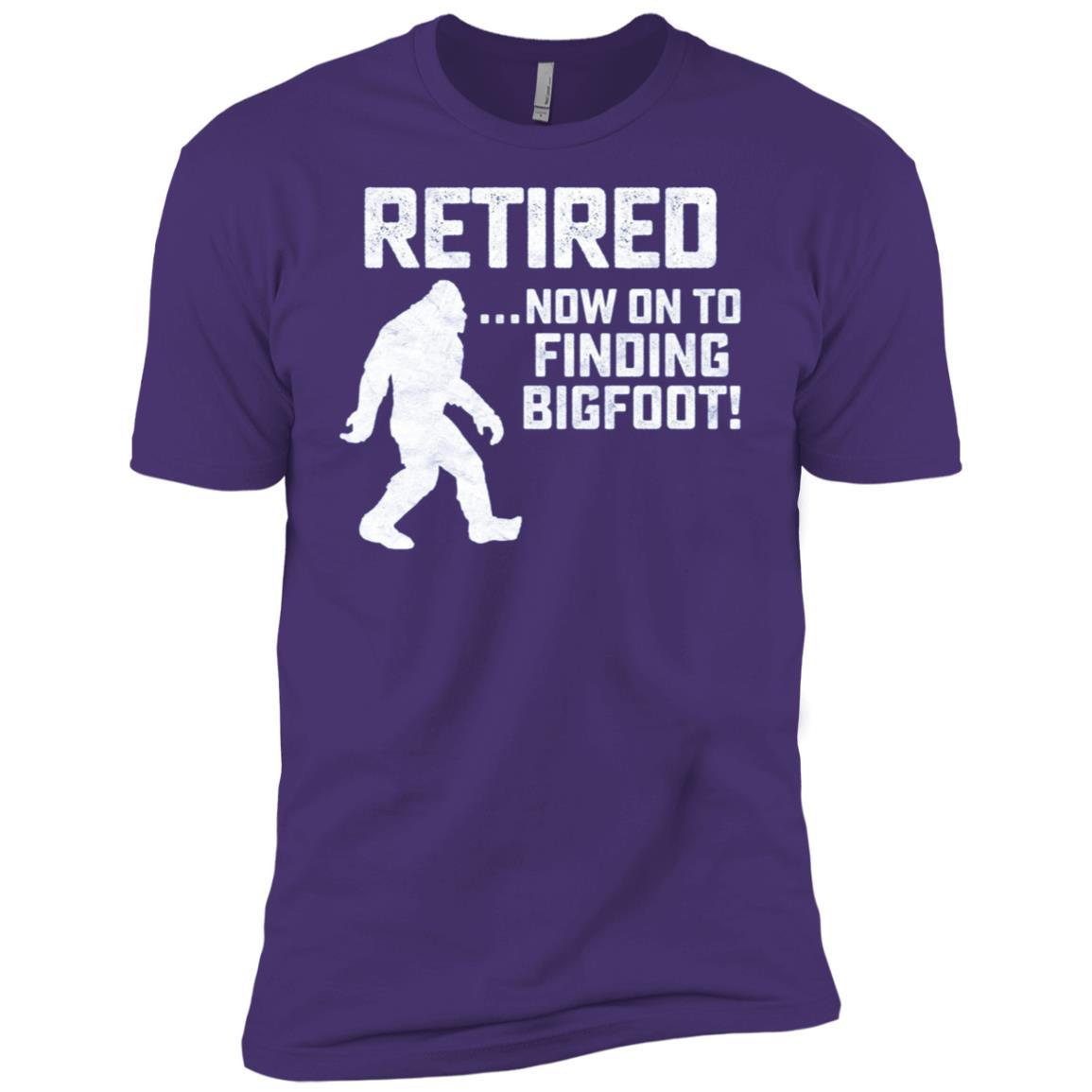 Funny Retirement for Bigfoot Fans-1 Men Short Sleeve T-Shirt