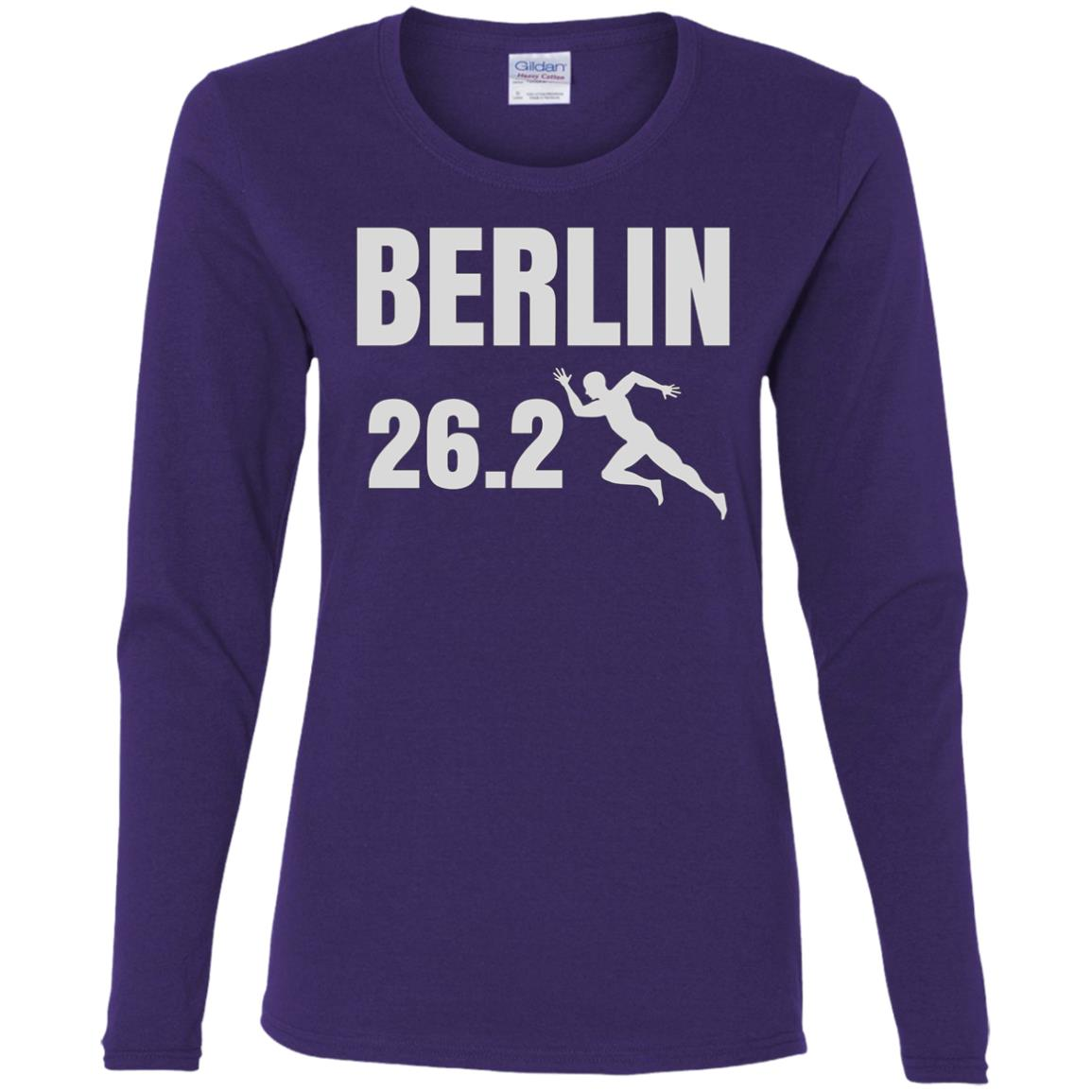 Berlin 26 Miles Marathon Running for Men and Women Women Long Sleeve T-Shirt