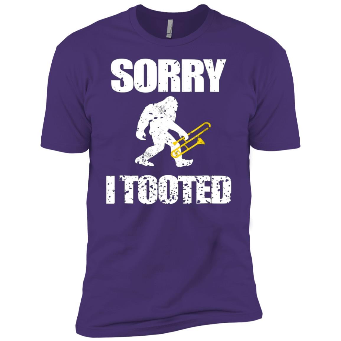 Funny Trombone Cool Bigfoot Gift Men Women Kids Men Short Sleeve T-Shirt