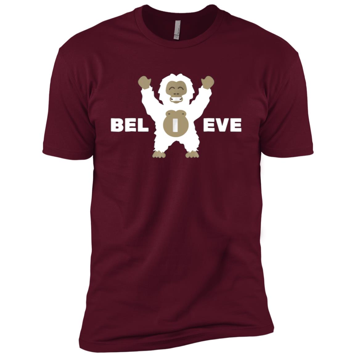 I believe Bigfoot Men Short Sleeve T-Shirt