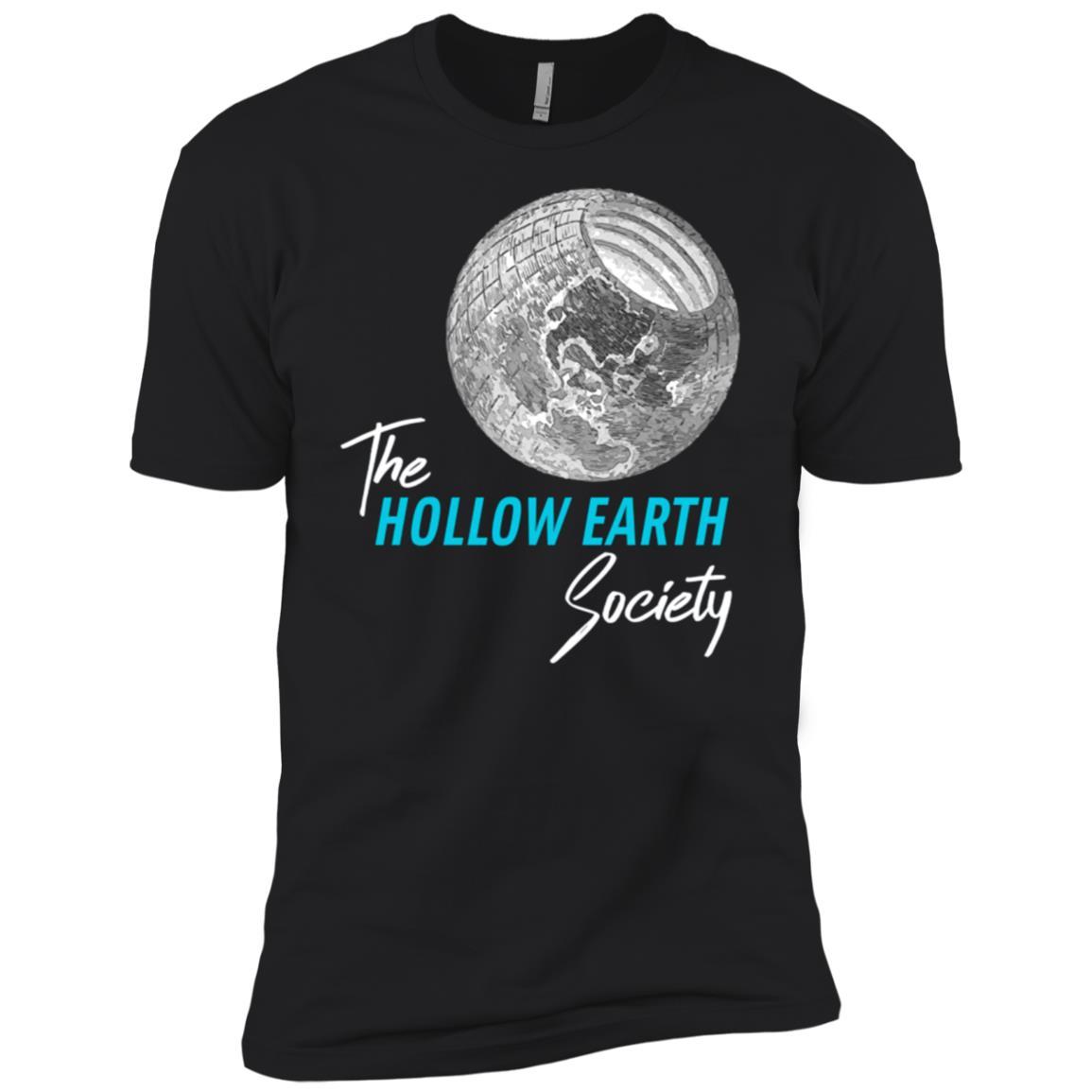 Hollow Earth Society Novelty Conspiracy Men Short Sleeve T-Shirt