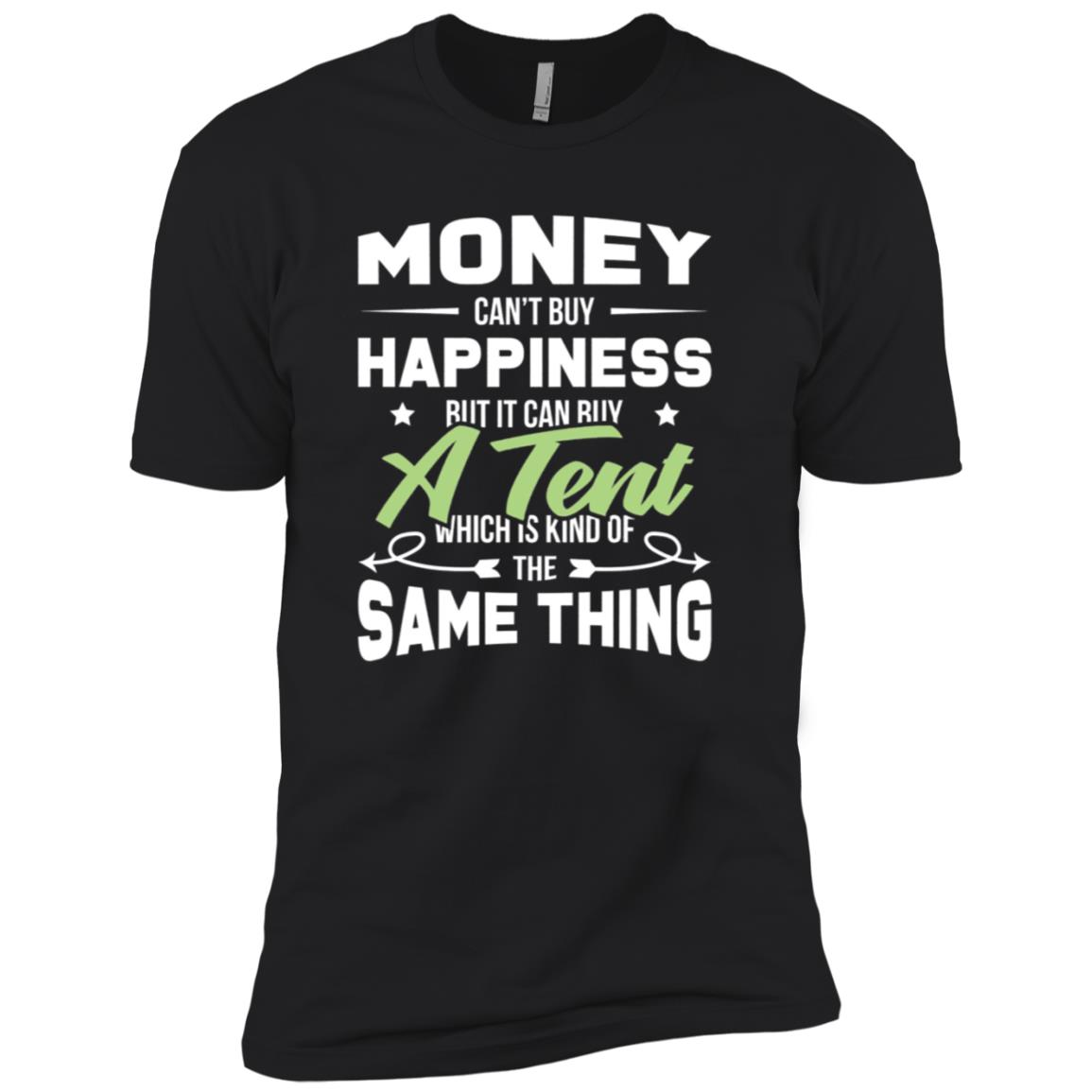 Hiking Travel Outdoor Funny Camping Day Men Short Sleeve T-Shirt