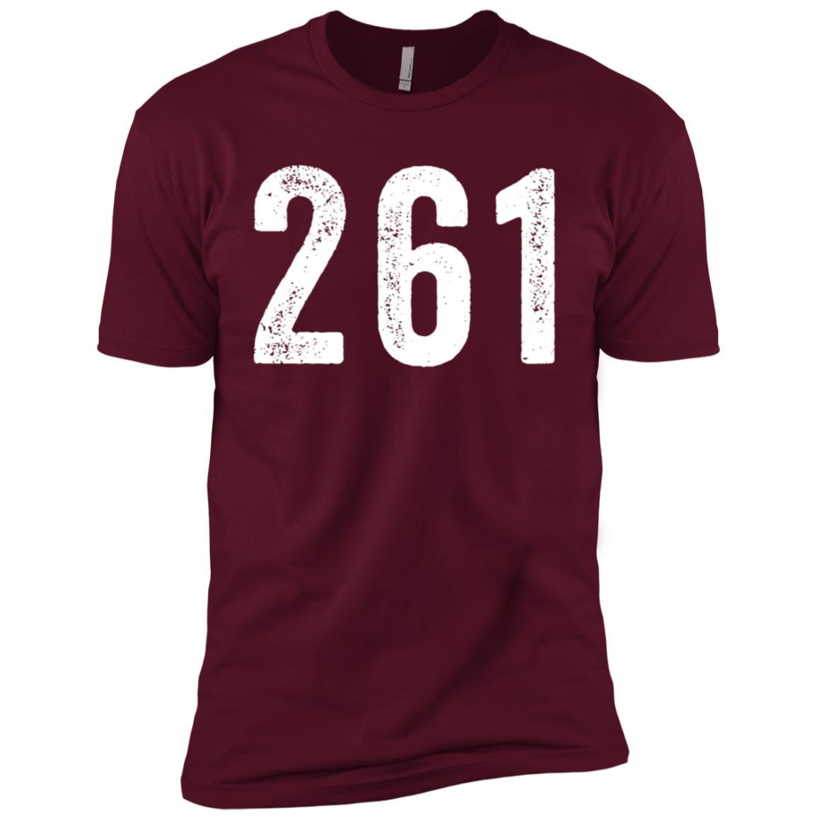 261 – Feminist Running Men Short Sleeve T-Shirt