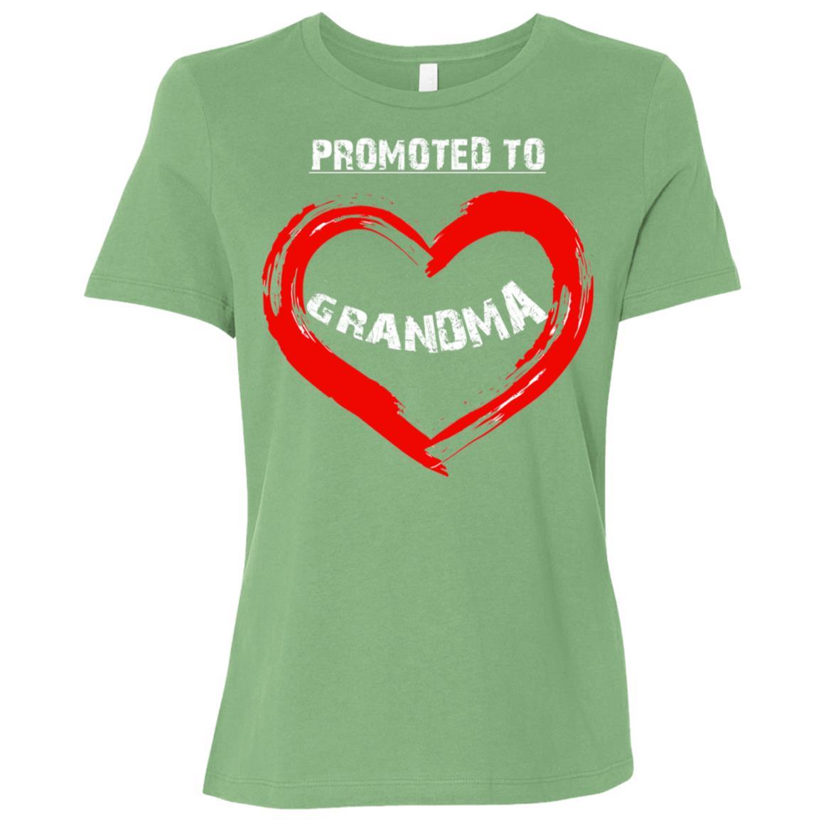 Promoted to grandma 2018-2 Women Short Sleeve T-Shirt
