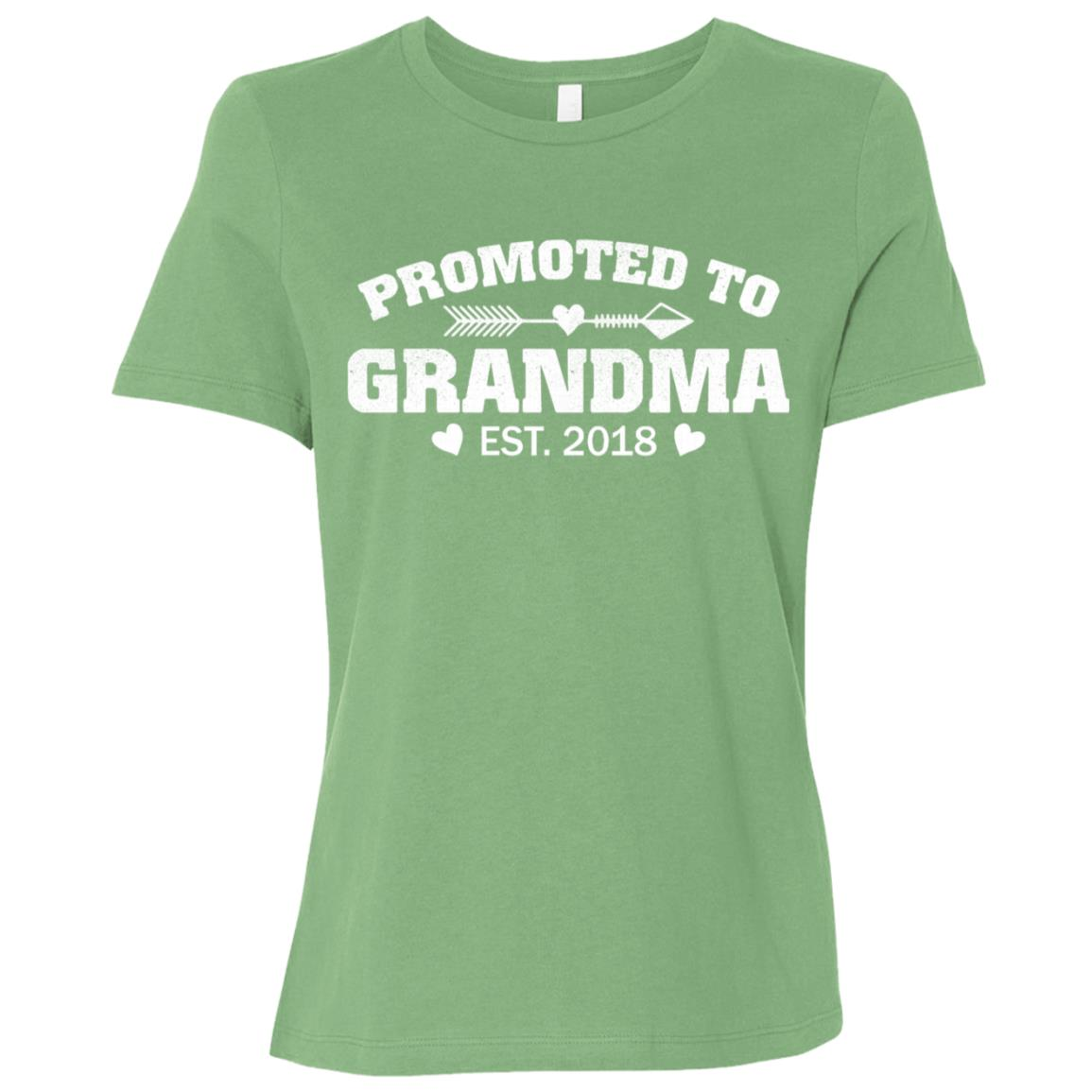 Promoted to grandma 2018 Women Short Sleeve T-Shirt