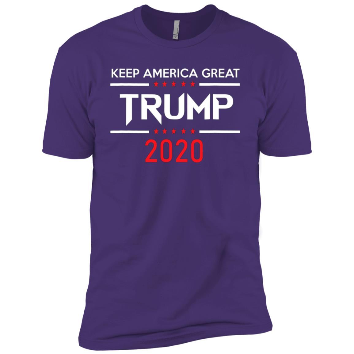 Trump 2020 Keep America Great Men Short Sleeve T-Shirt