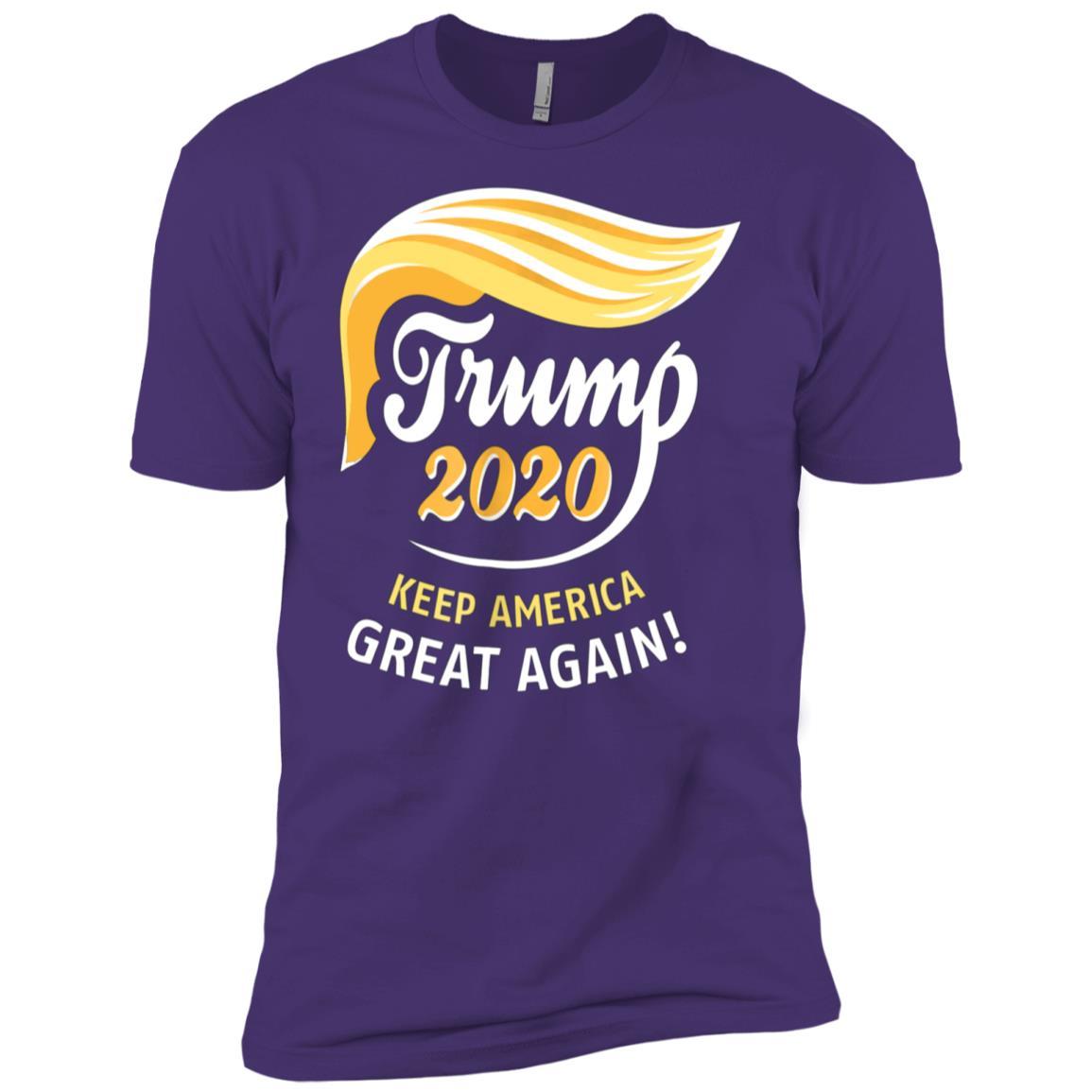 President Trump 2020 – KEEP AMERICA GREAT AGAIN! Men Short Sleeve T-Shirt