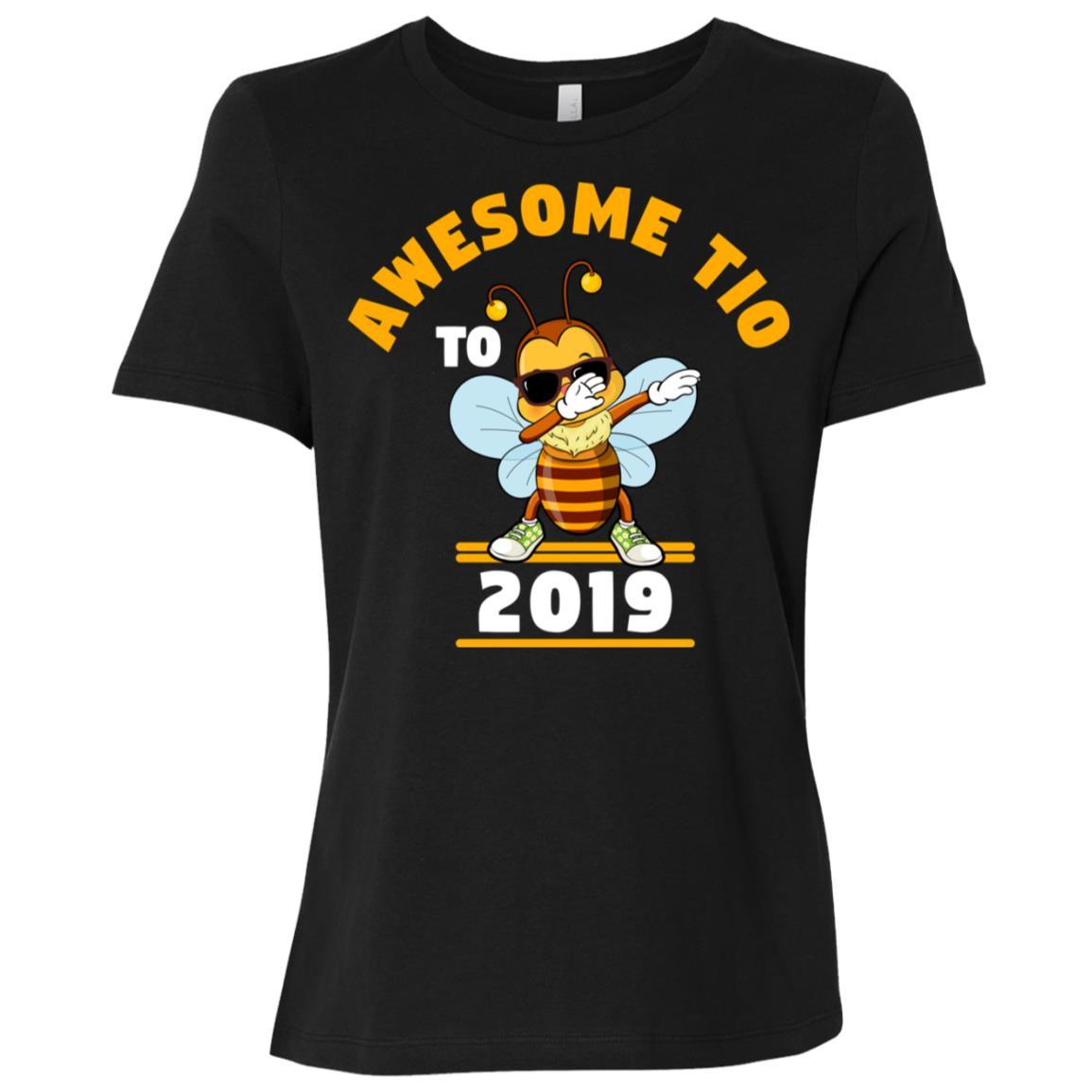 Uncle To Be 2019 Tio Dabbing Bee Women Short Sleeve T-Shirt