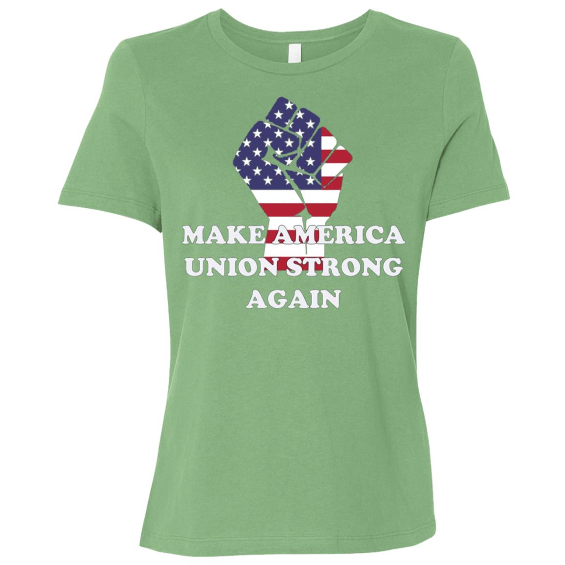 Zdals Make America Union Strong Women Short Sleeve T-Shirt