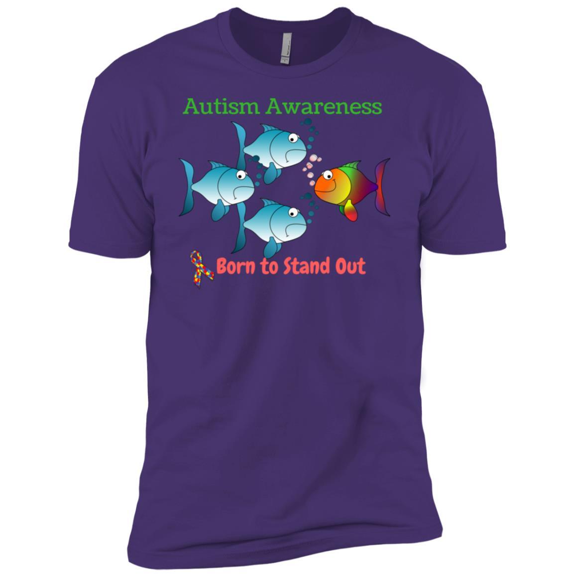 Autism Awareness -2 Men Short Sleeve T-Shirt