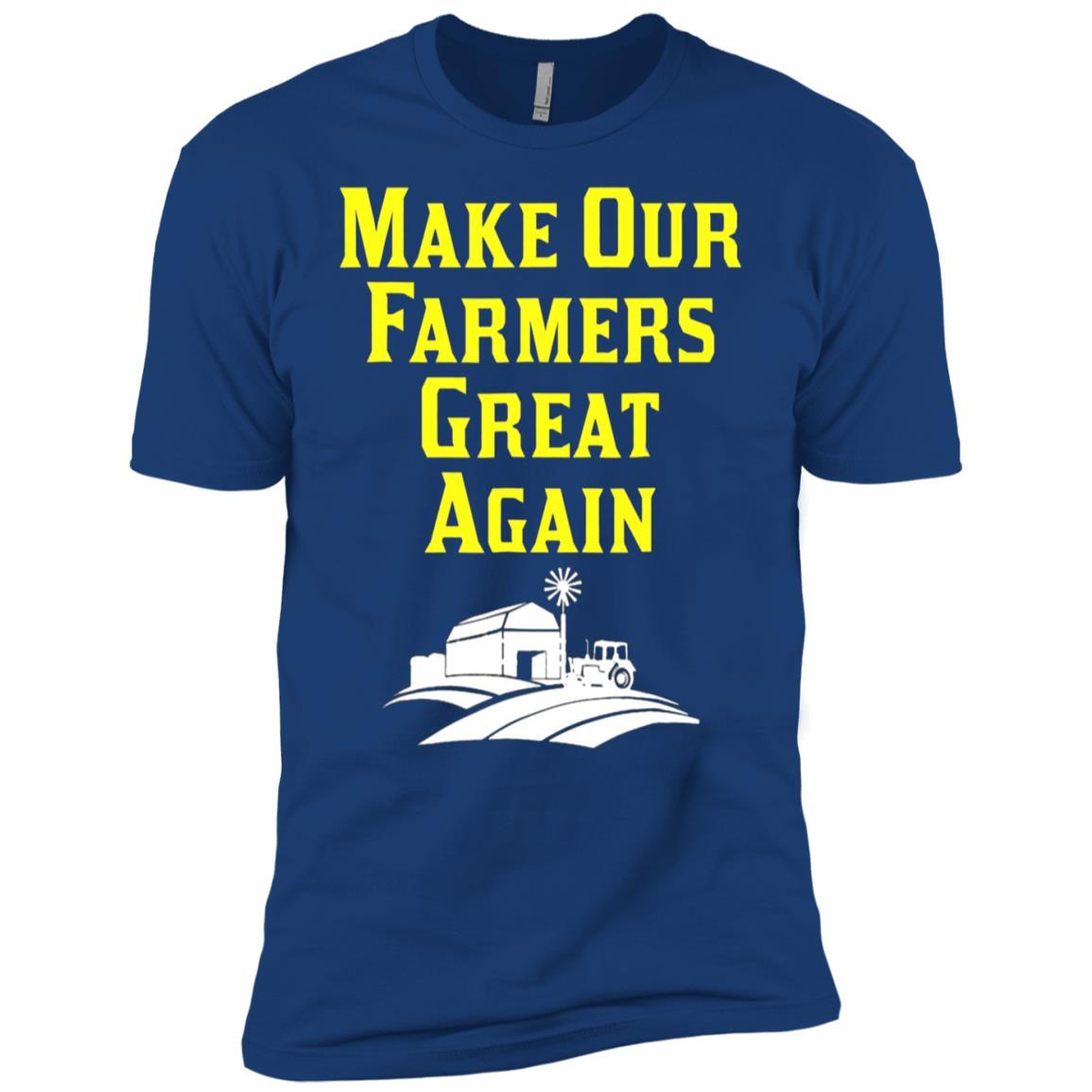 Vintage Farmer Make Our Farmers Great Again Men Short Sleeve T-Shirt