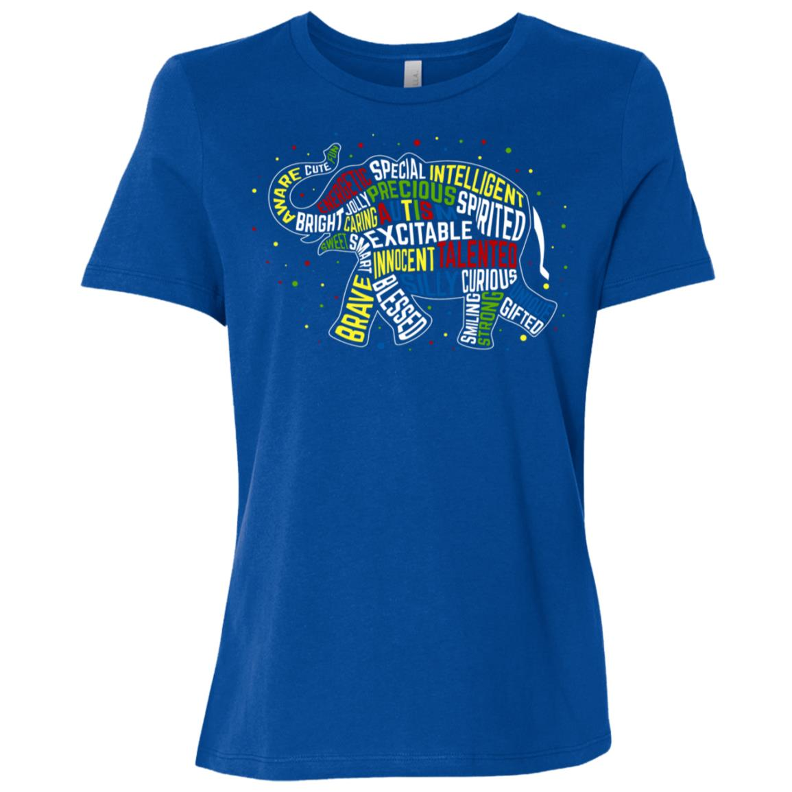 Are You Looking for an Autism Awareness E Women Short Sleeve T-Shirt