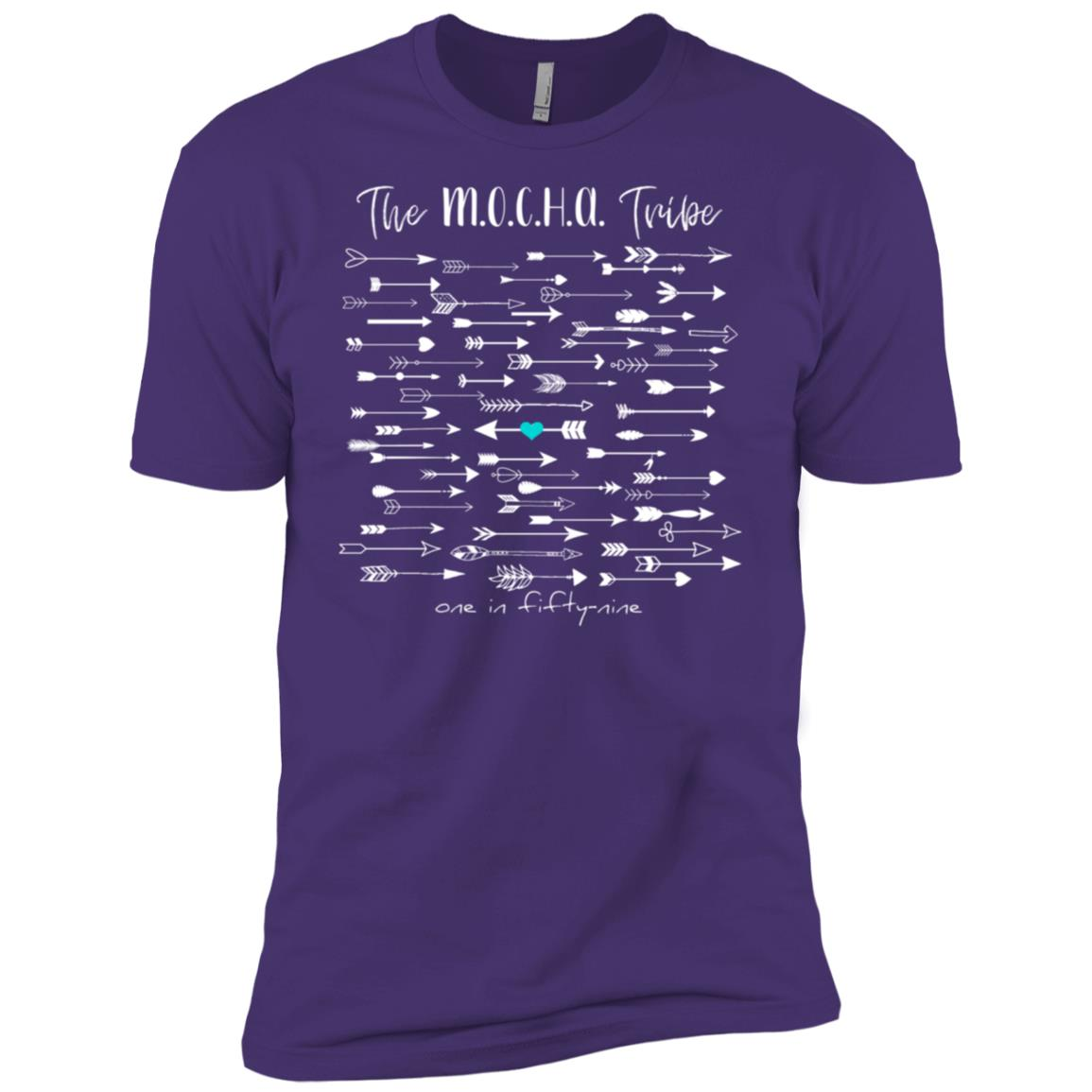 Cdc reported autism rate is 1 in 59. #nomorepuzzlepieces-15 Men Short Sleeve T-Shirt