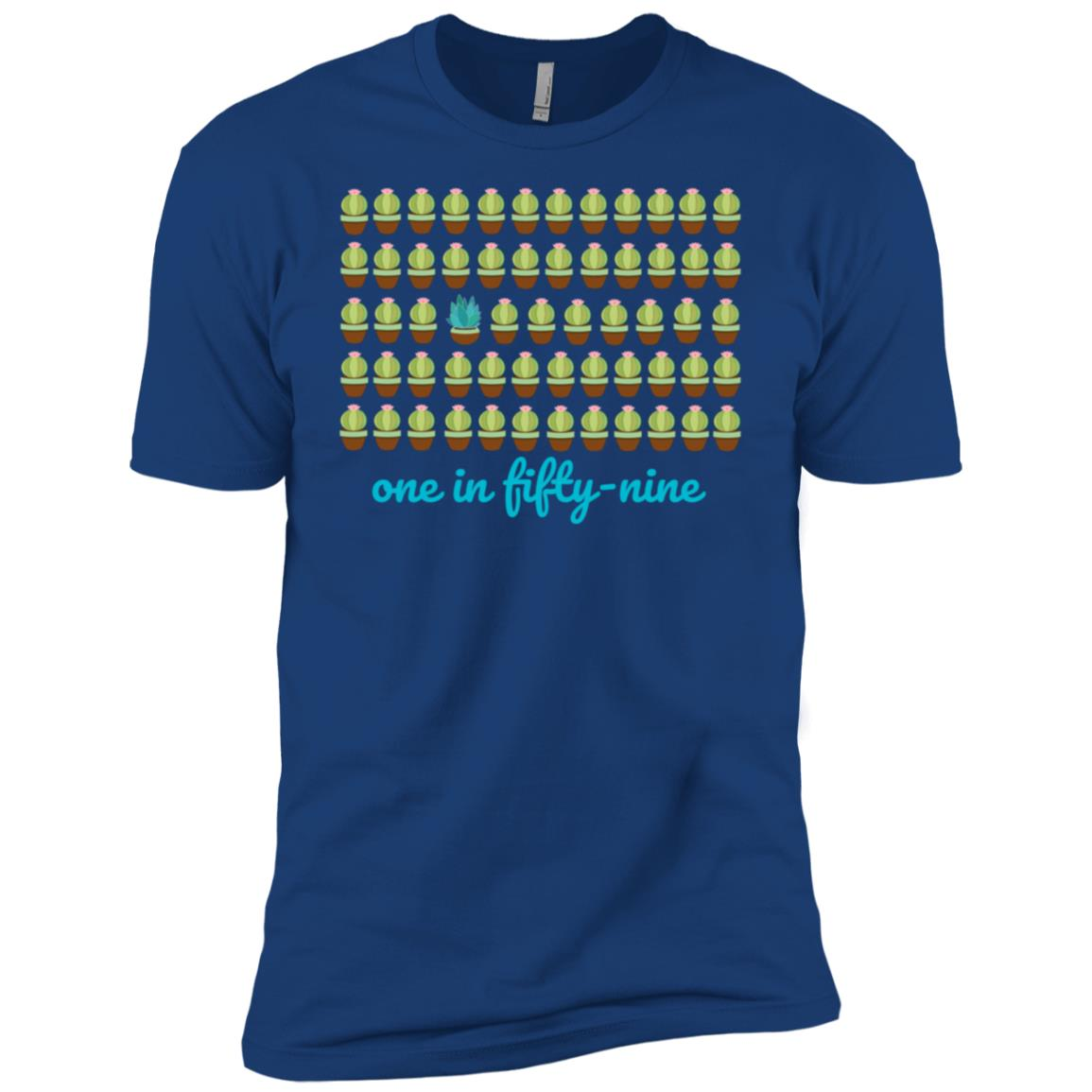 Cdc reported autism rate is 1 in 59. #nomorepuzzlepieces-3 Men Short Sleeve T-Shirt