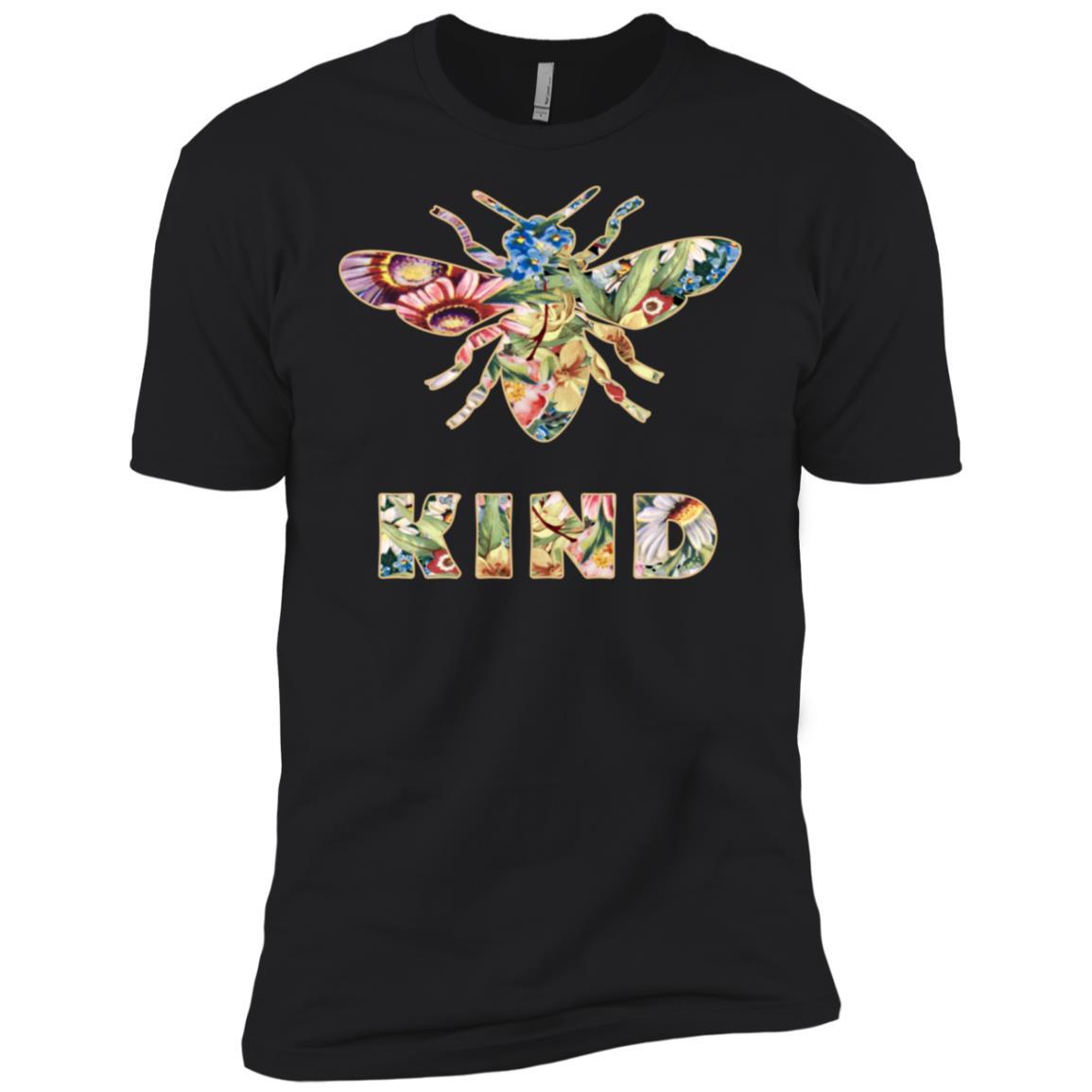 Bee kind Cute Bumble Bee Kindness Long -2 Men Short Sleeve T-Shirt