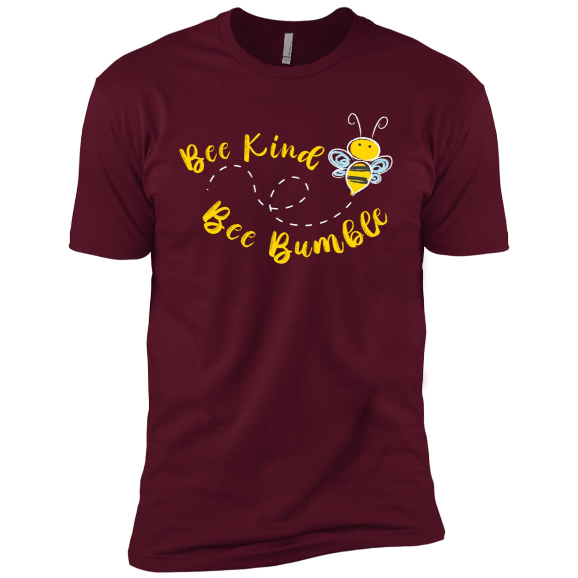 Bee kind Cute Bumble Bee Kindness Long -1 Men Short Sleeve T-Shirt