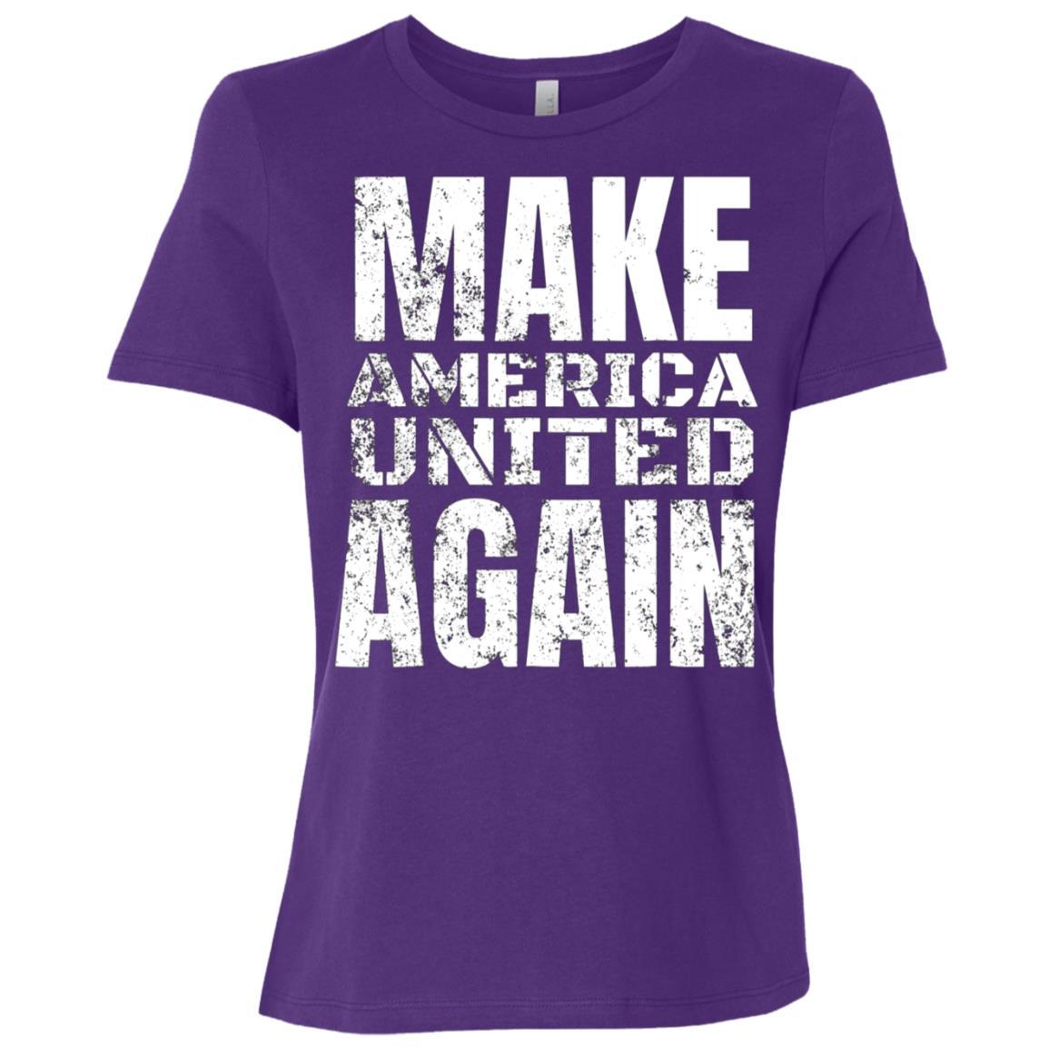 Unite The Families Make American United Again Tee Women Short Sleeve T-Shirt