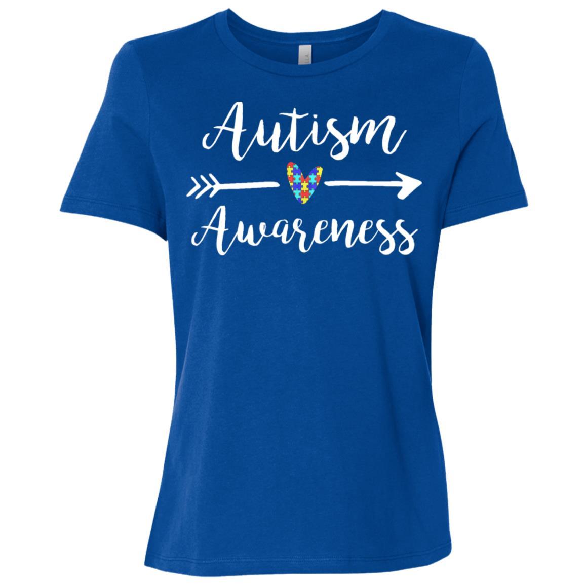 cute autism awareness Women Short Sleeve T-Shirt